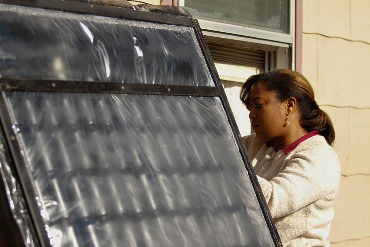 Soda Can Solar Furnace Helps Cut Heating Bills | New ...