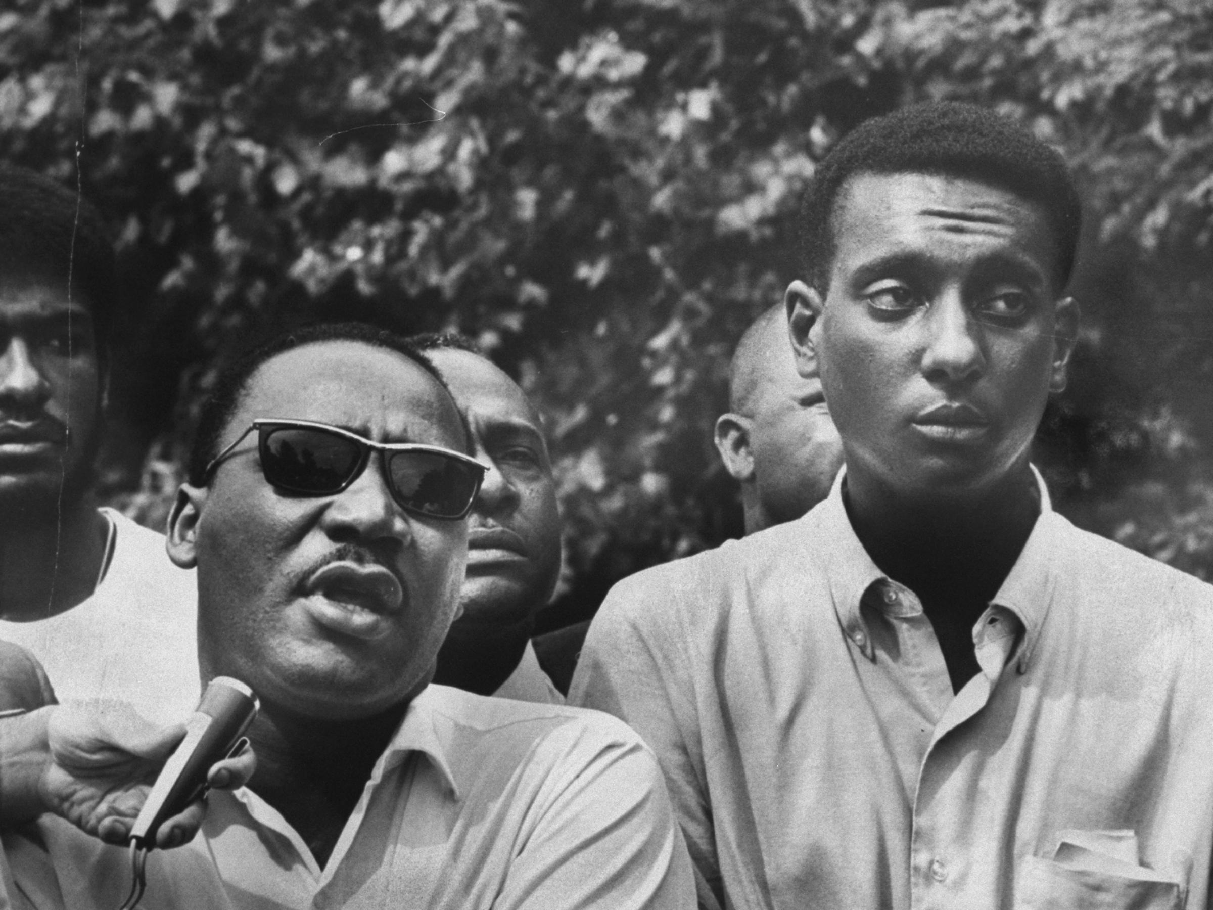 an analysis of stokely carmichael a view point Ideology and shame  in recounting his falling out with stokely carmichael  newton's politics of friendship derives from ideological analysis, and carmichael.