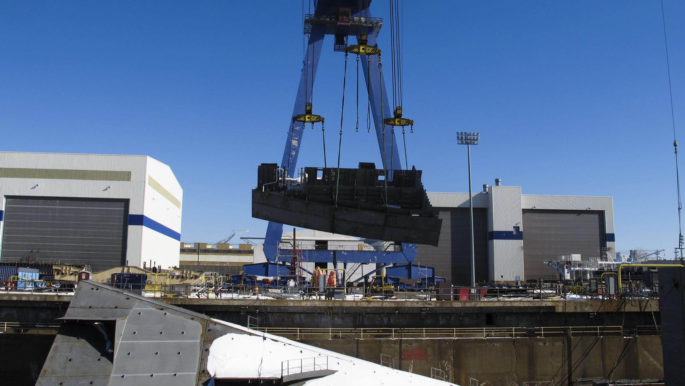 shipbuilding industry Decline in us shipbuilding industry: a cautionary tale 2015.