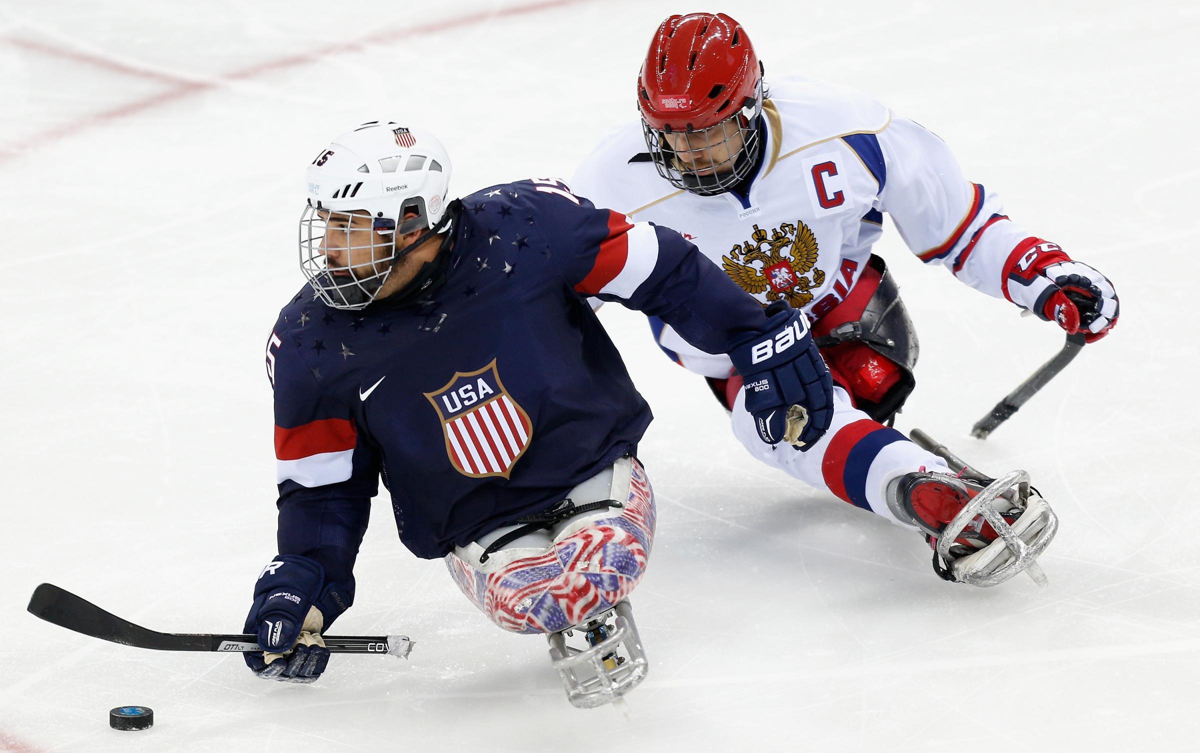 U.S. Beats Russia To Win Sled Hockey Gold At Sochi ...