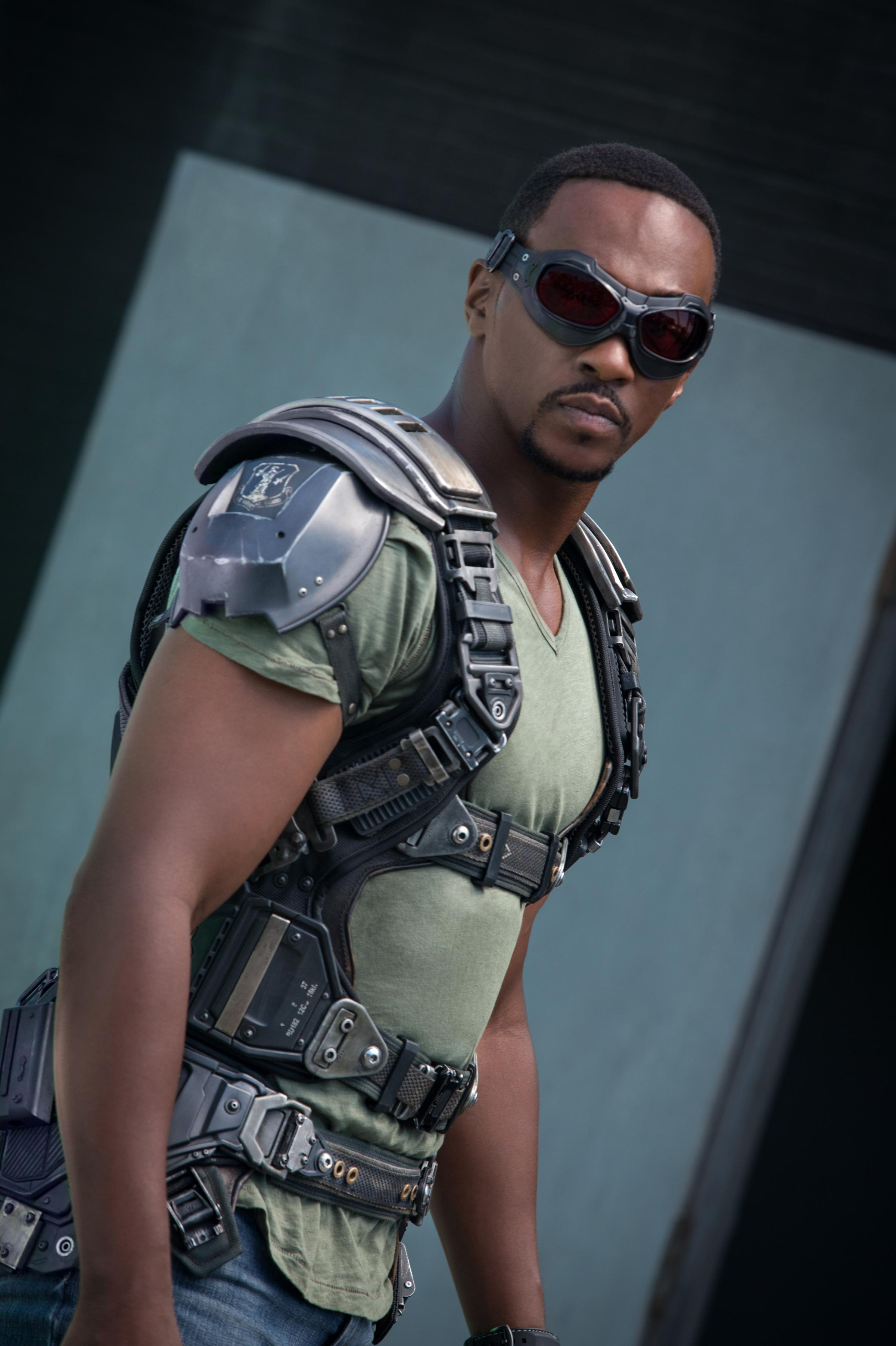anthony mackie soars as captain america 39 s falcon kuow. Black Bedroom Furniture Sets. Home Design Ideas