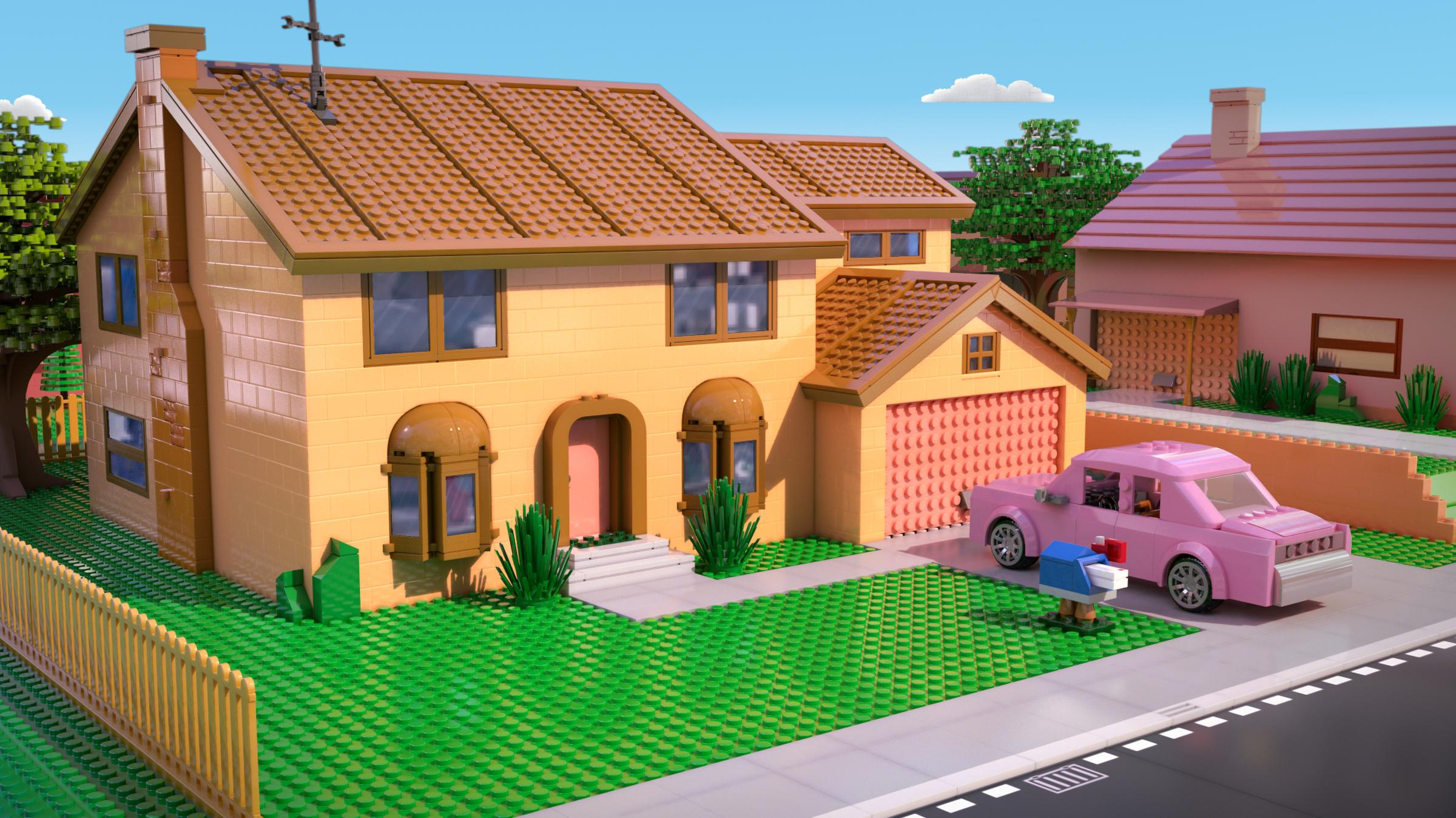 Lego Full House What Do The Simpsons Look Like In Lego Wnpr News