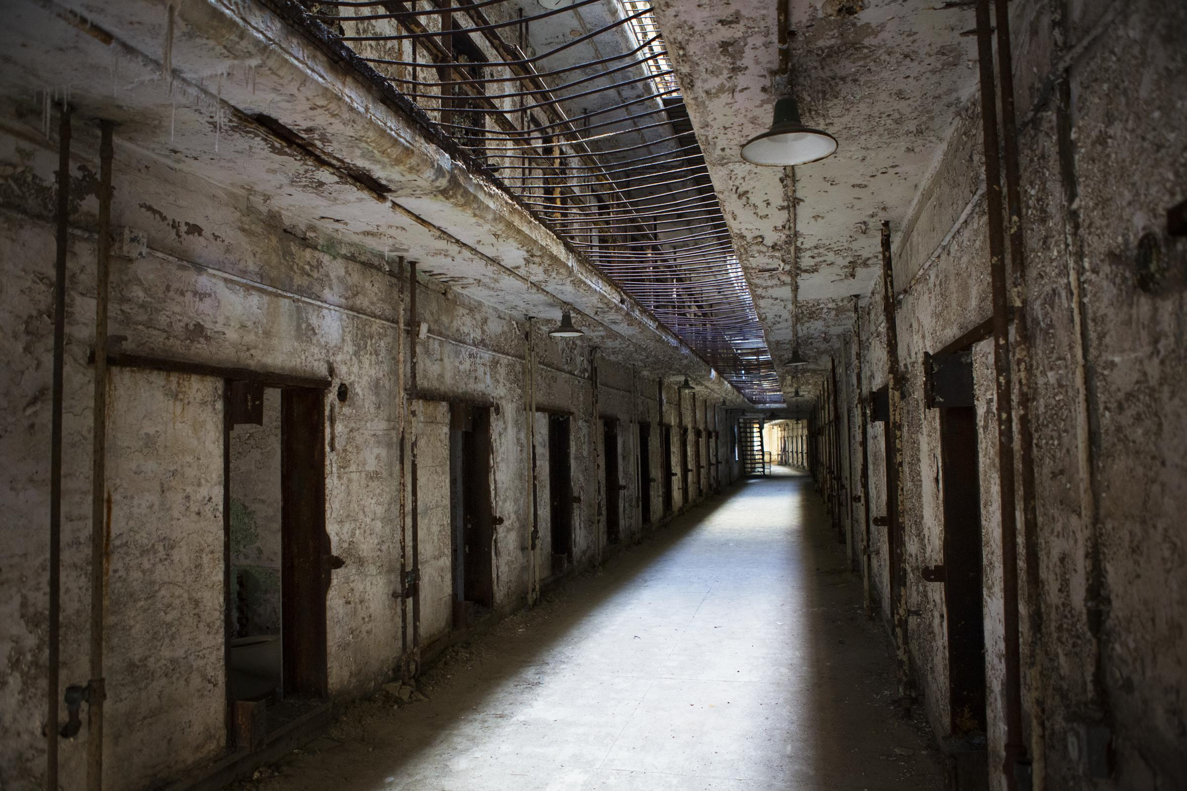At an abandoned philadelphia prison all hell breaks loose for 13 floor haunted house pennsylvania