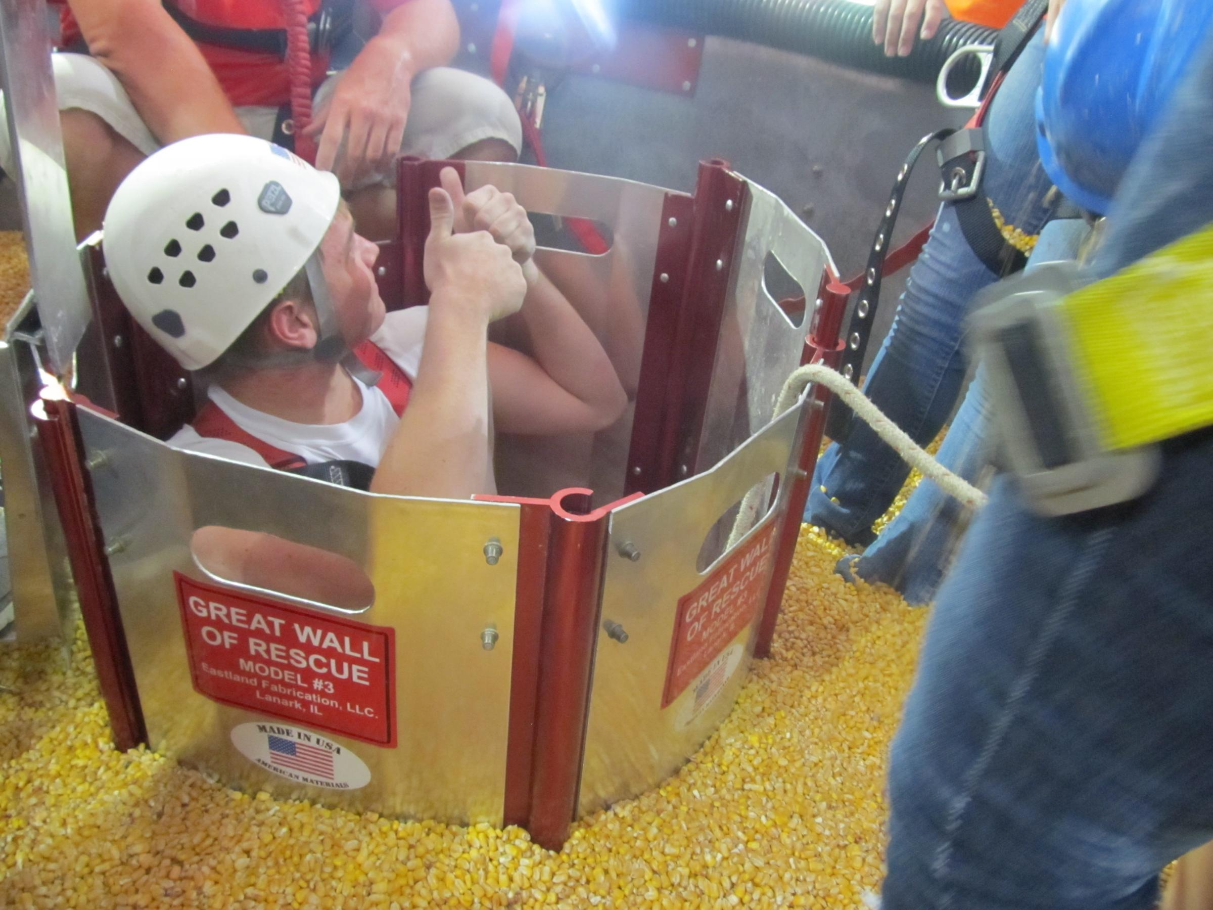 Image result for grain bin safety
