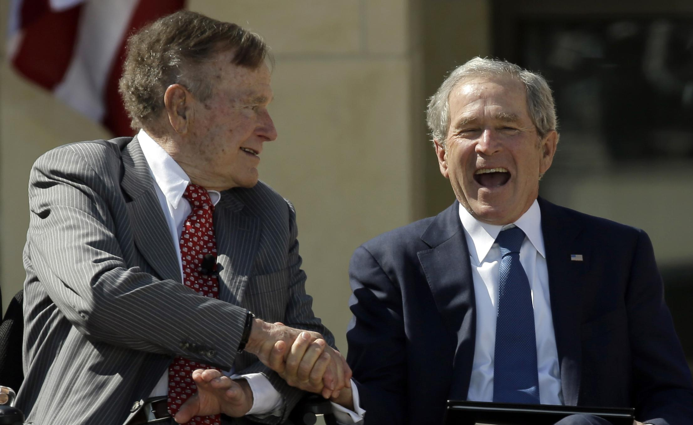 Book News George W Bush Coming Out With Biography Of His