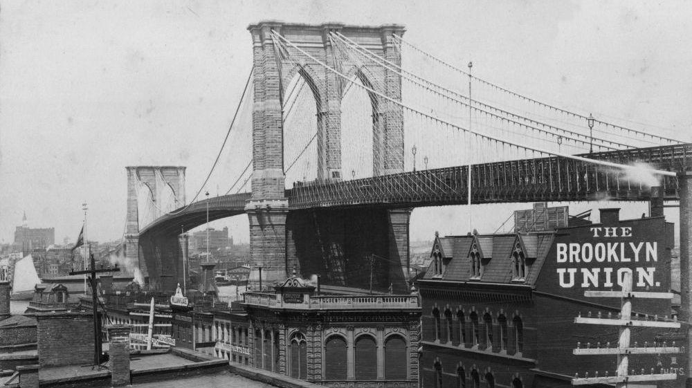 the history of the brooklyn bridge