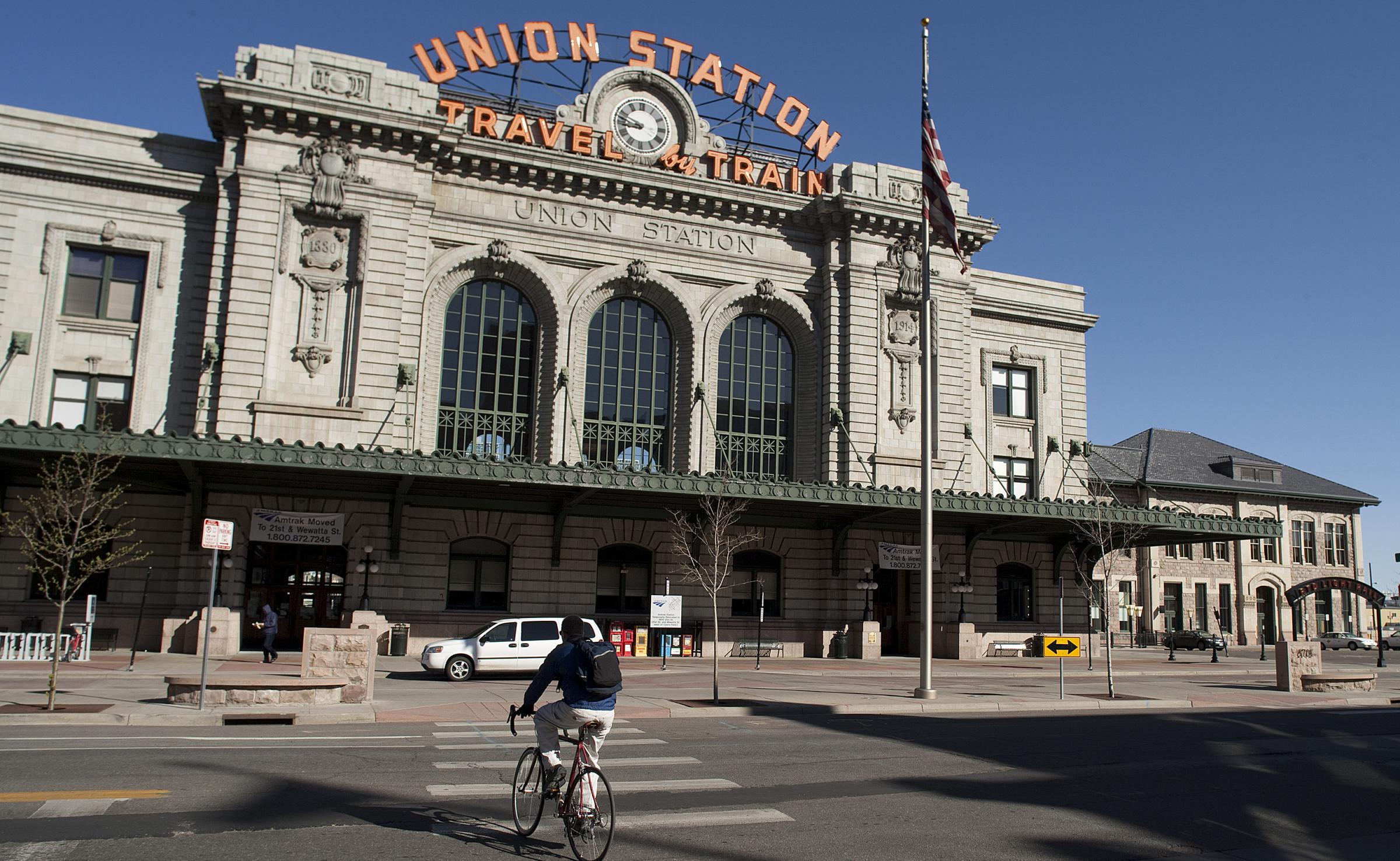 Denver S Union Station Which Was Remodeled To Include Restaurants And A Hotel Reopened Last Month