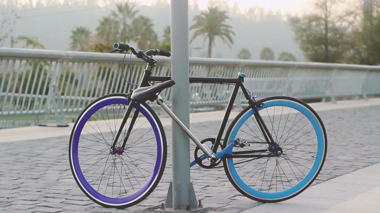 Bike That Locks Itself a Bike That Locks Itself