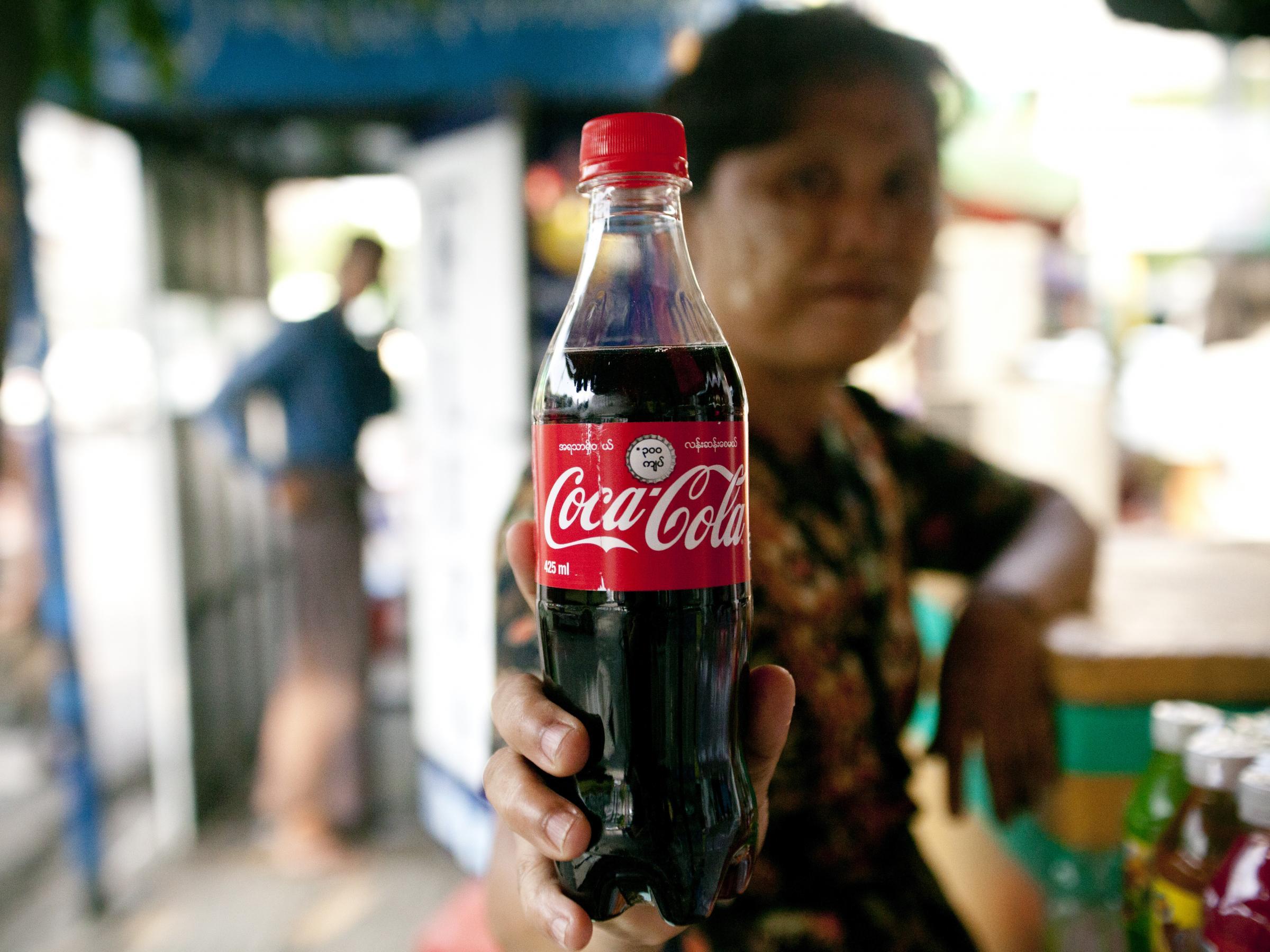Coca cola back in burma