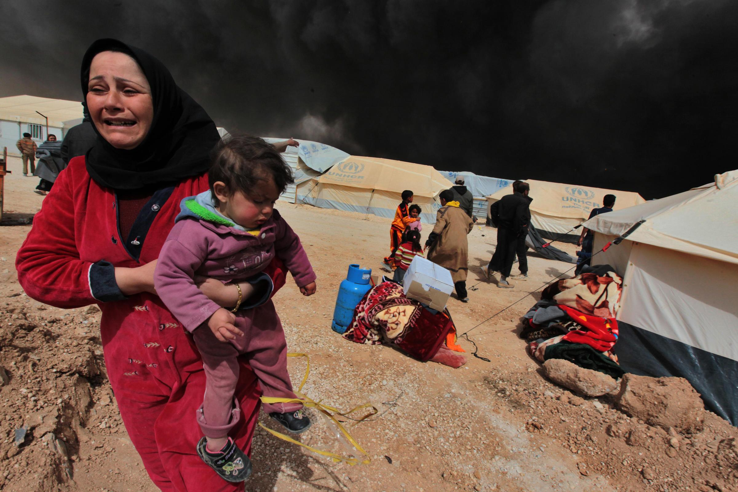 the life and struggles of syrian refugees A group of syrian refugees fled fighting at home a struggle to remain where syrian forces.