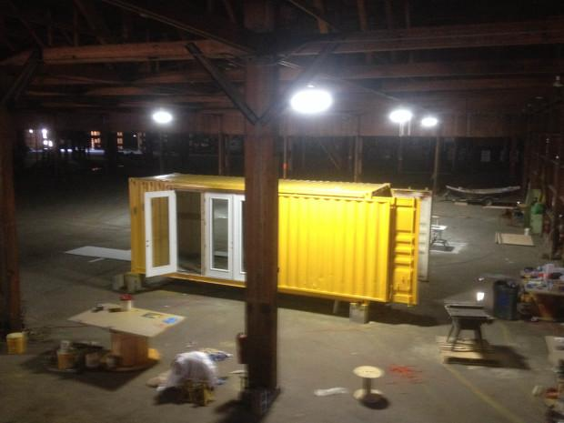 Next phase of tiny house movement brings shipping container homes to portland jefferson public - Container homes portland oregon ...