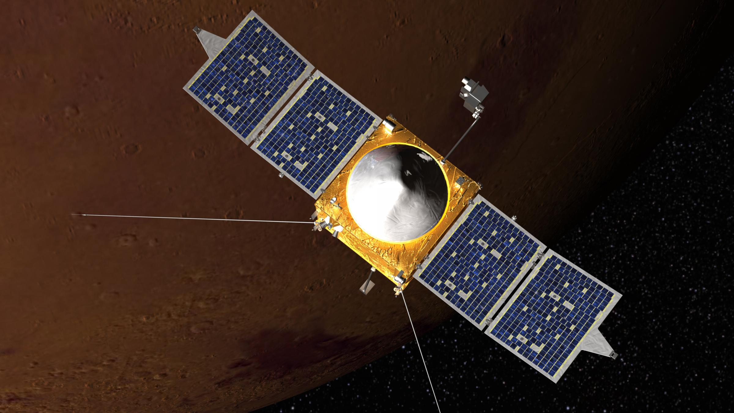 NASA: MAVEN Spacecraft Safely Circling Mars | West ...