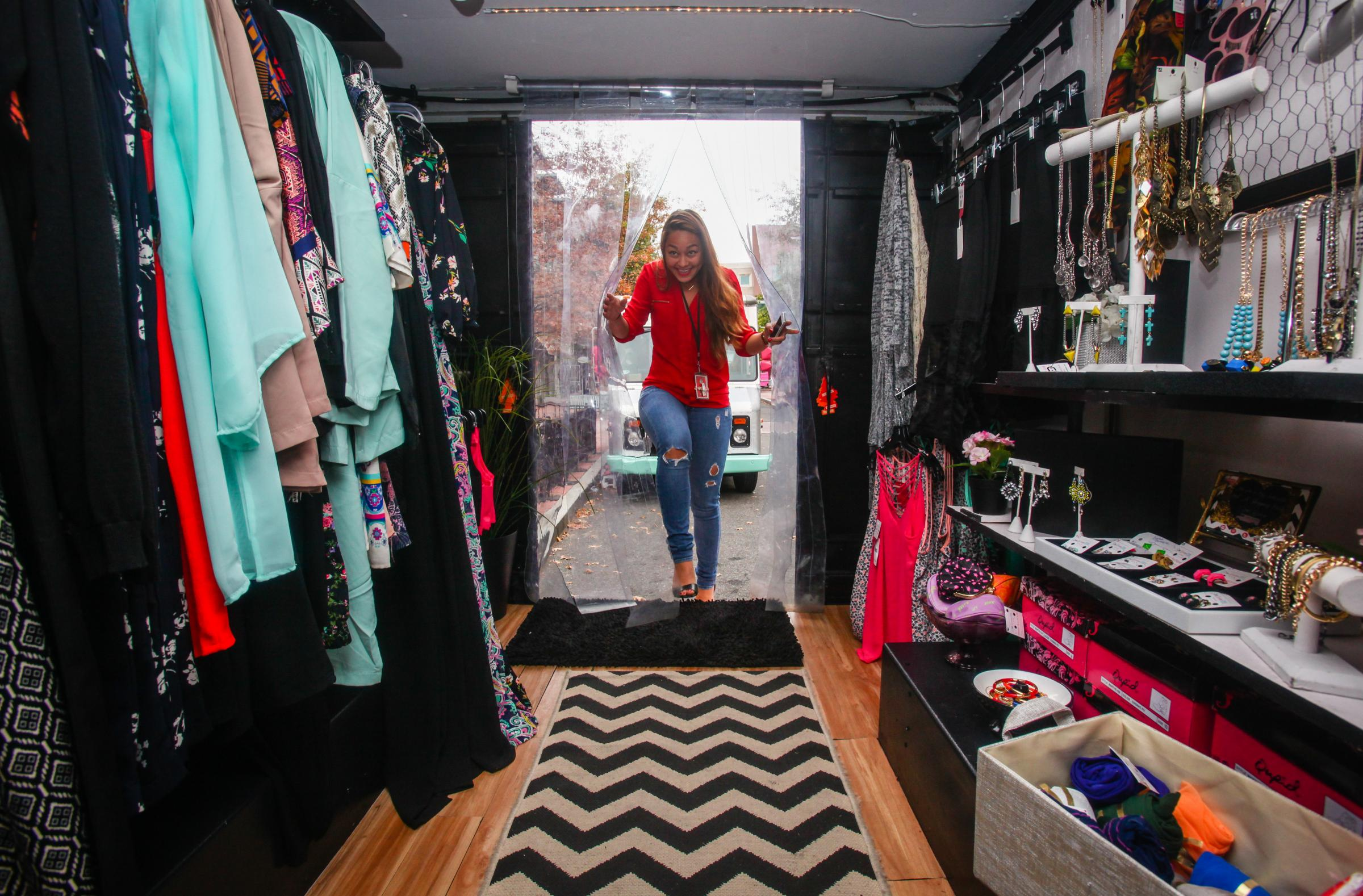make room food trucks mobile fashion stores hit the
