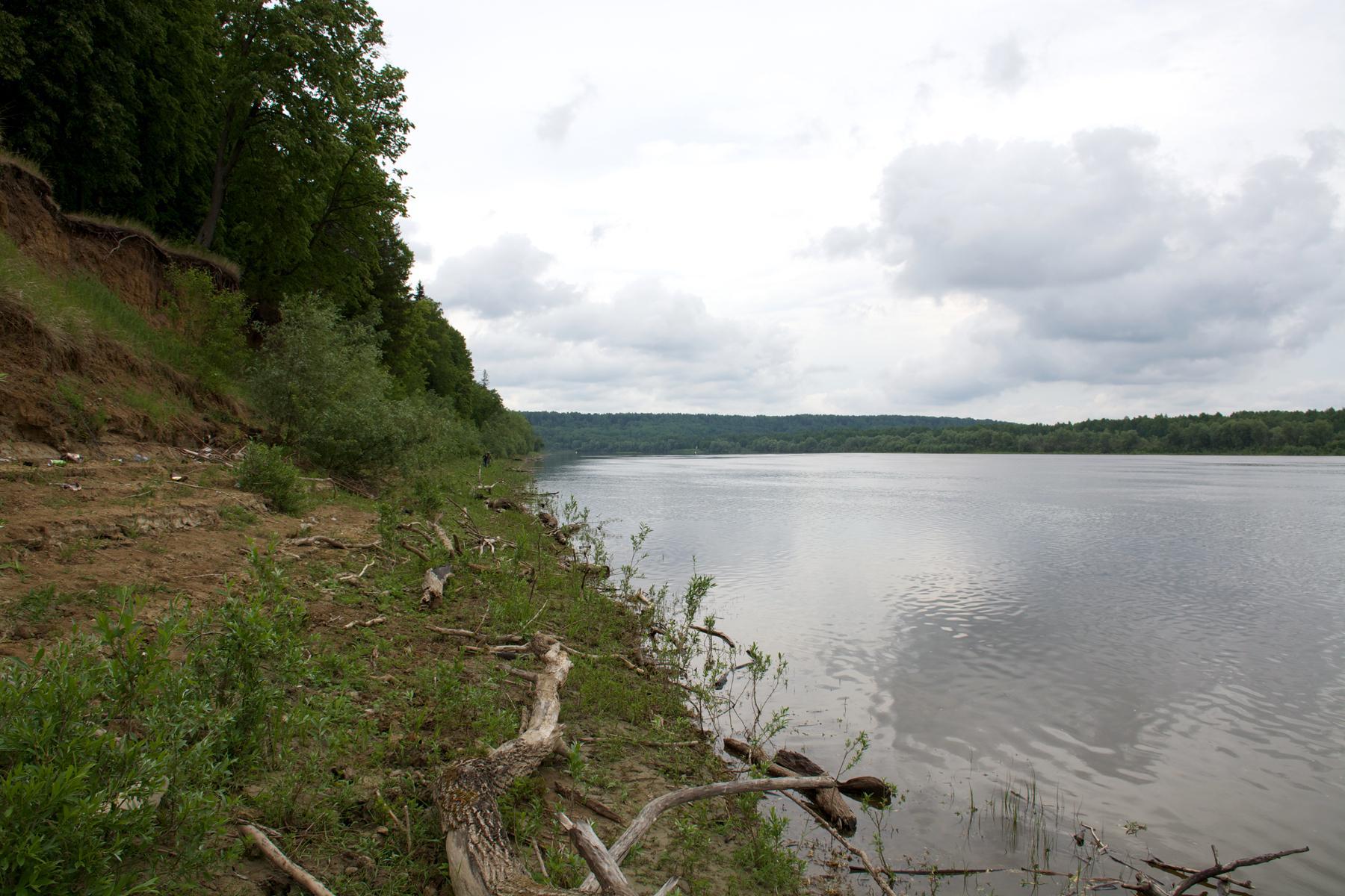 The irtysh river