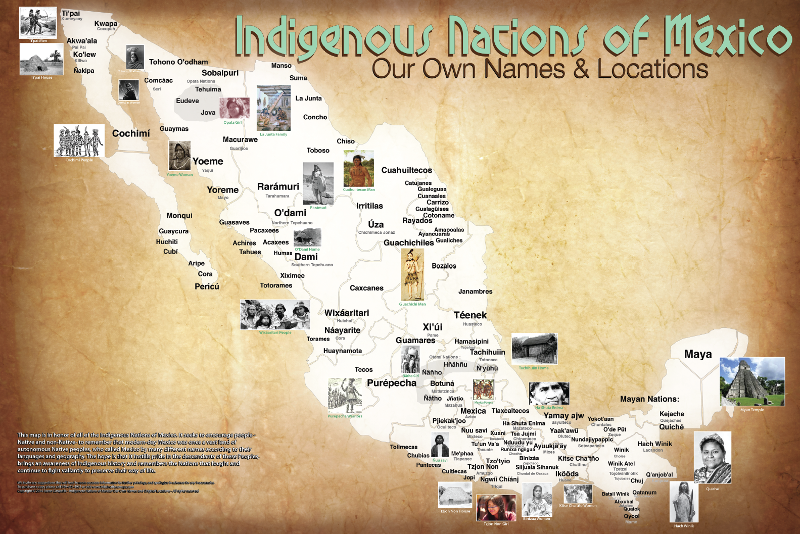 The Map Of Native American Tribes Youve Never Seen Before WUNC - Map of native american tribes in arizona