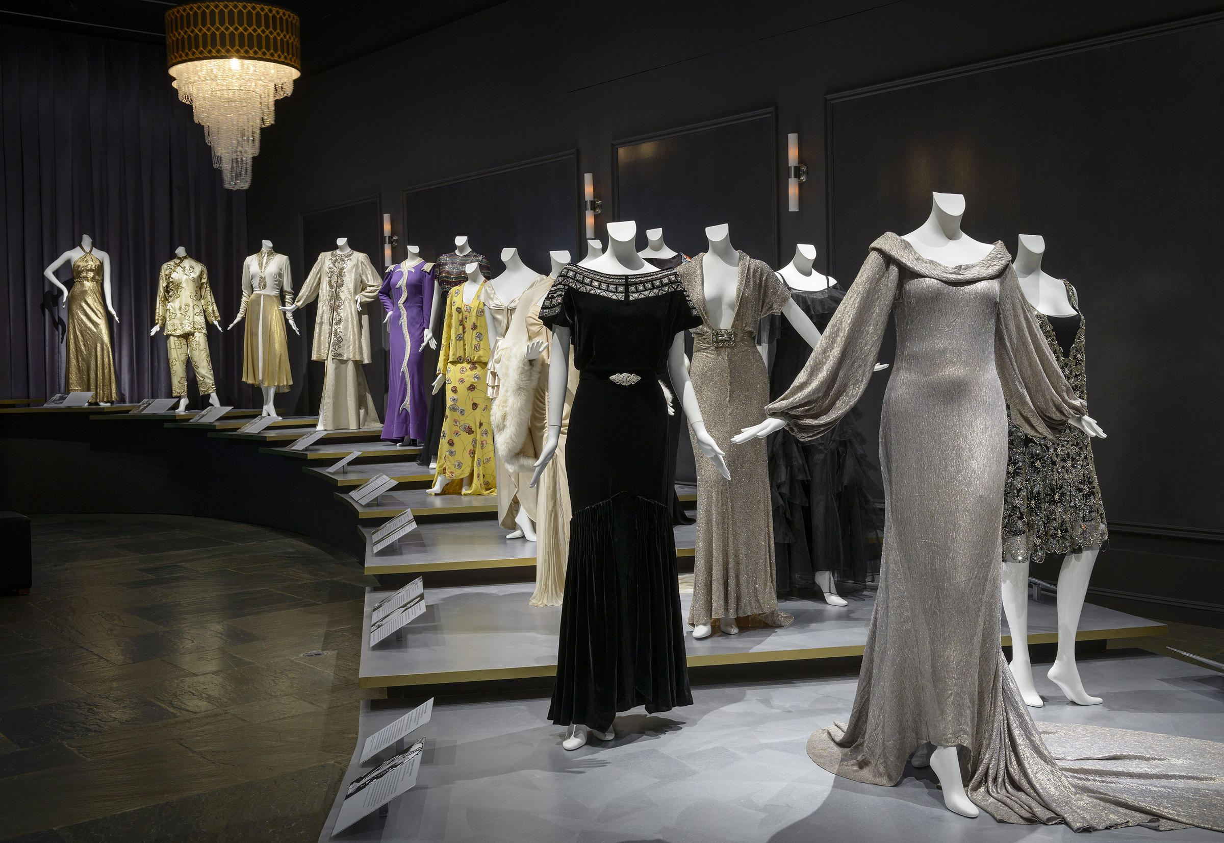 Gold Plated Gowns And 8 Inch Pumps The Stuff That Made Starlets Shimmer Kuow News And Information