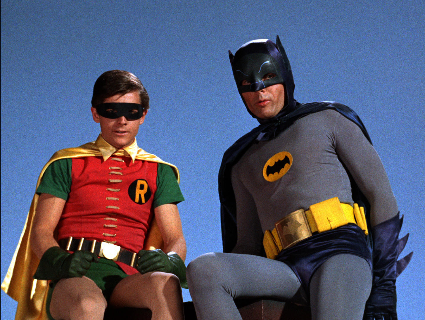Adam West is back as Batman