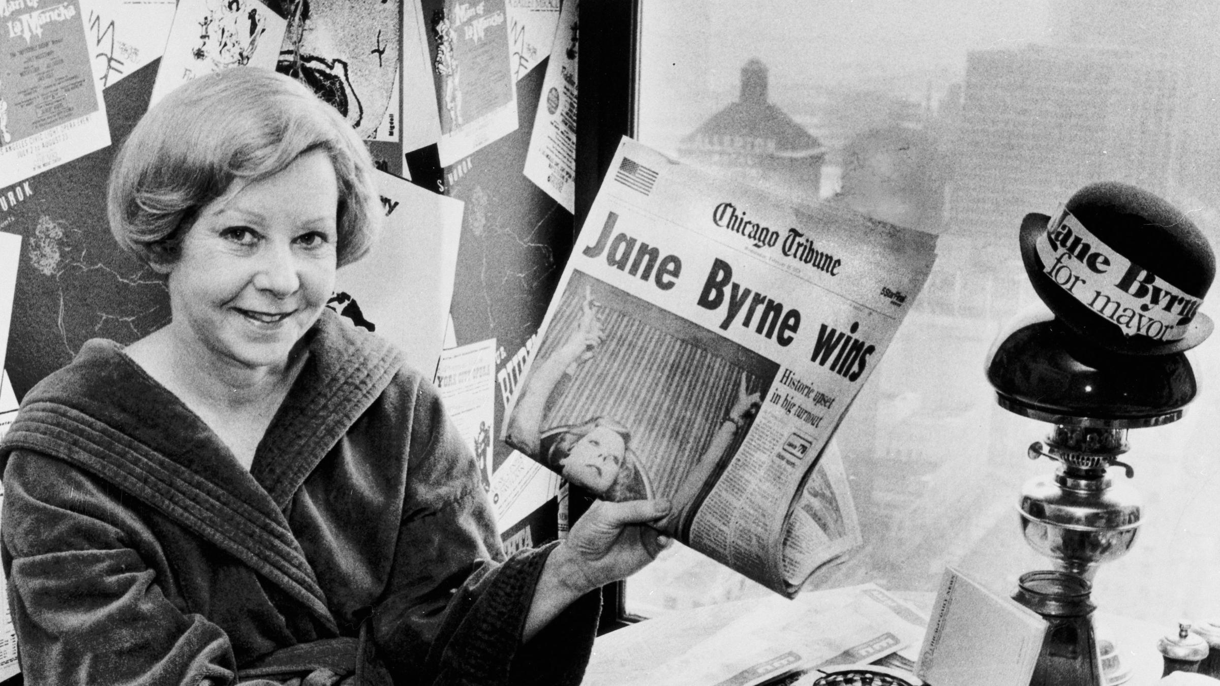 Jane Byrne Dies No Woman Has Led A Larger U S City New