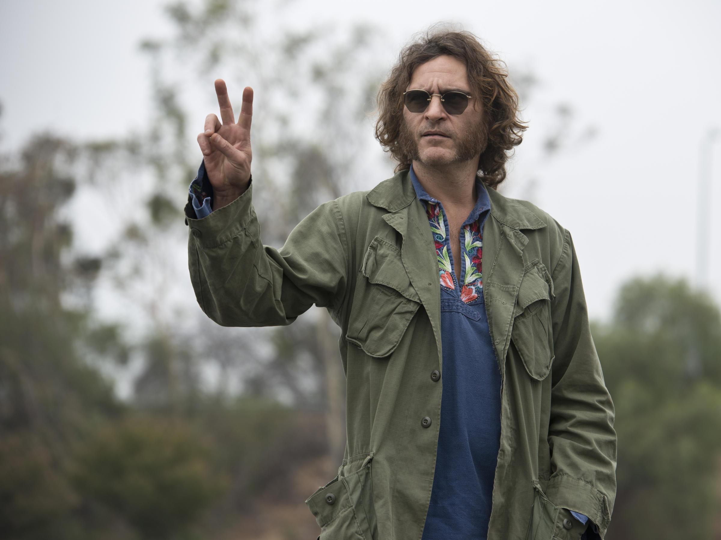 Joaquin Phoenix Inherent Vice Gif