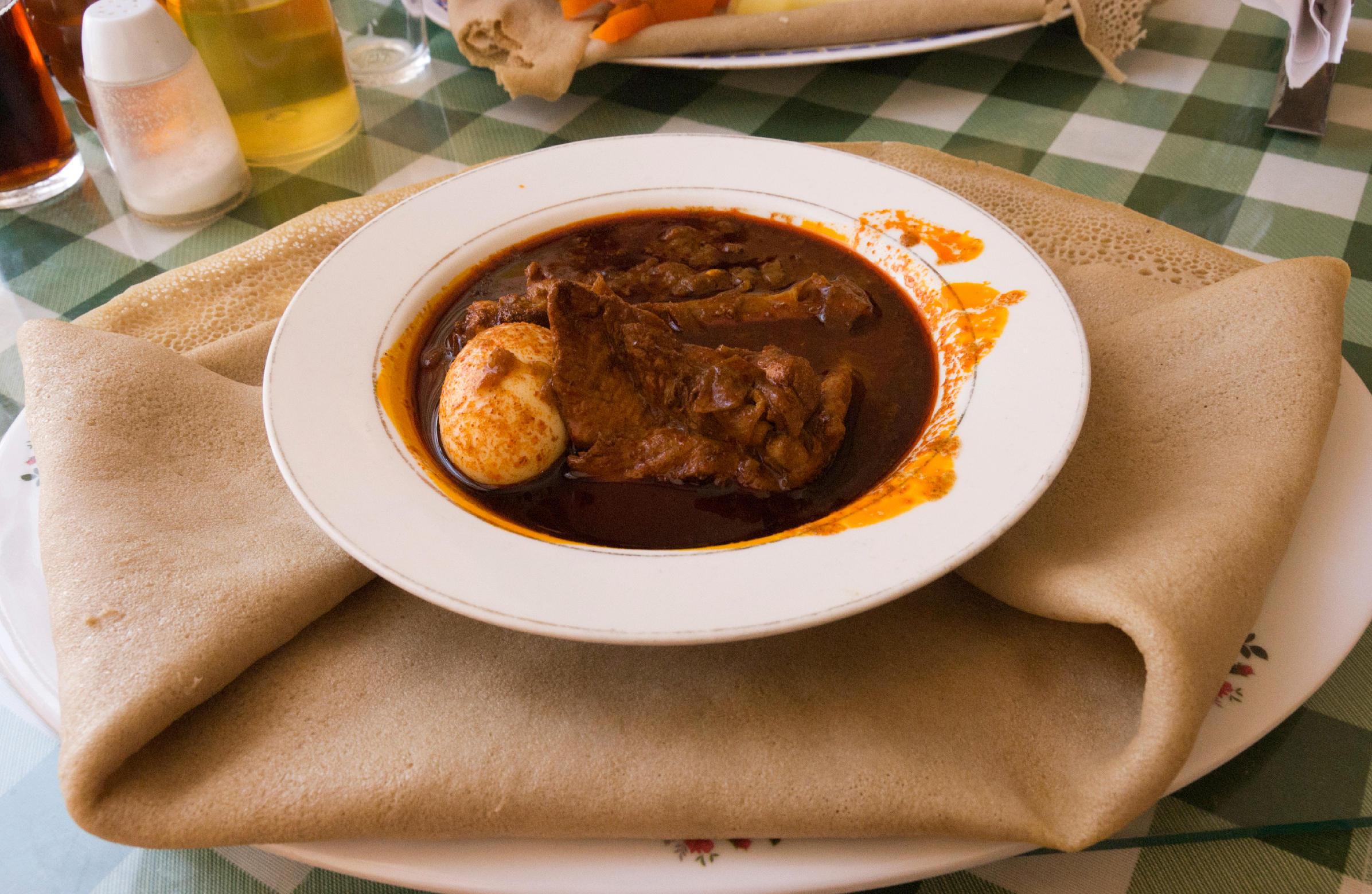 how to cook ethiopian food injera