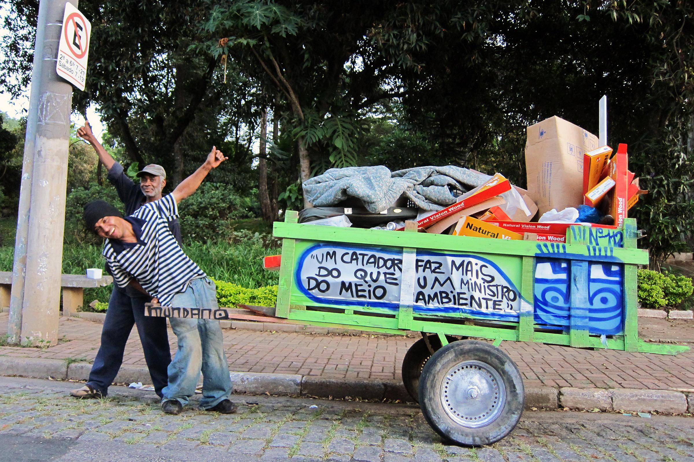 MTV Pimps Cars, Brazil Pimps Trash Carts | WAMC