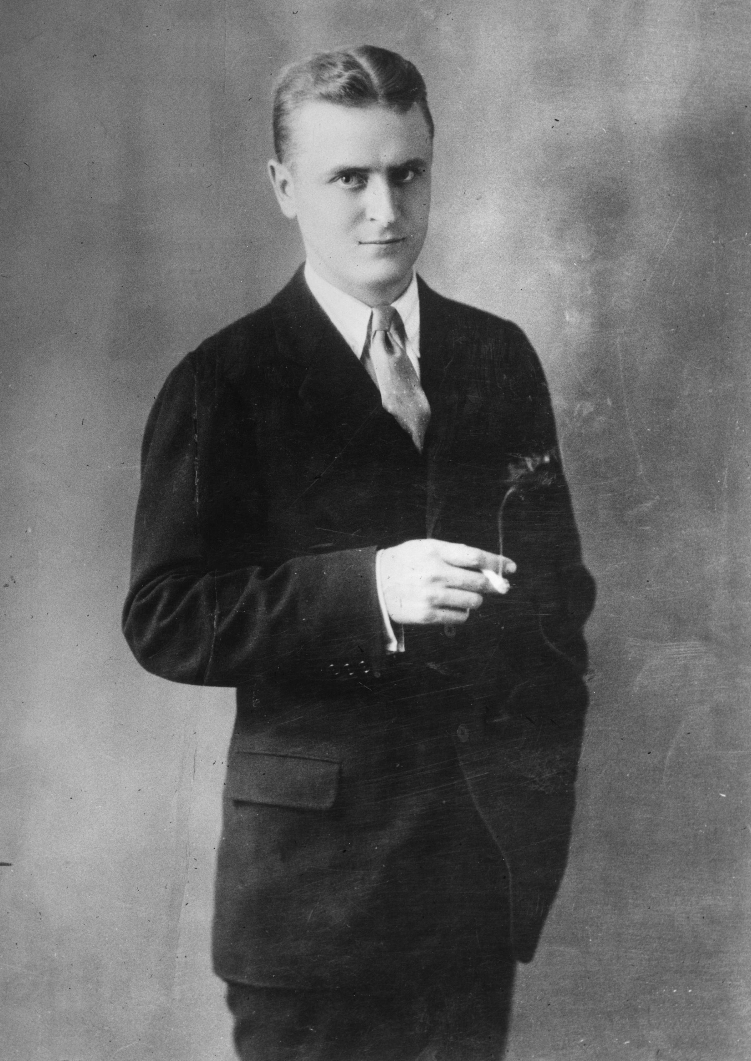 F Scott Fitzgerald Pulitzer This portrait of F  Scott