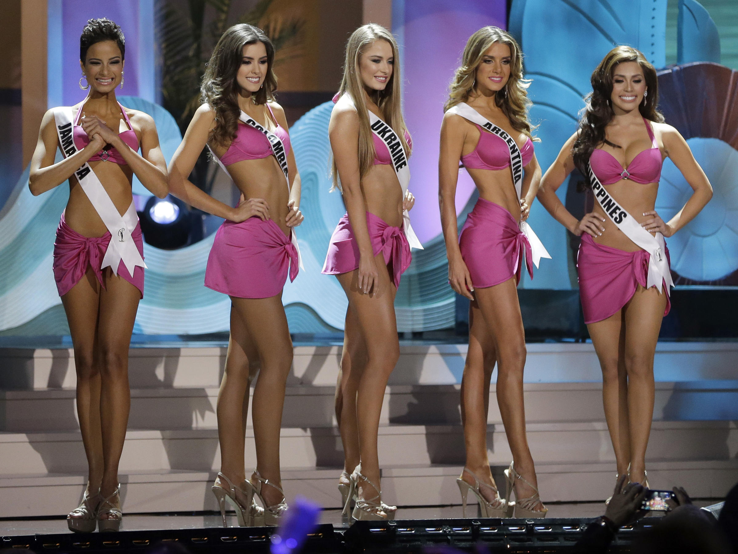 Critics Suggested That Most Of This Year's Miss Universe Finalists  Conformed To A European Standard Of Beauty, Even Though The Contestants  Represented 88