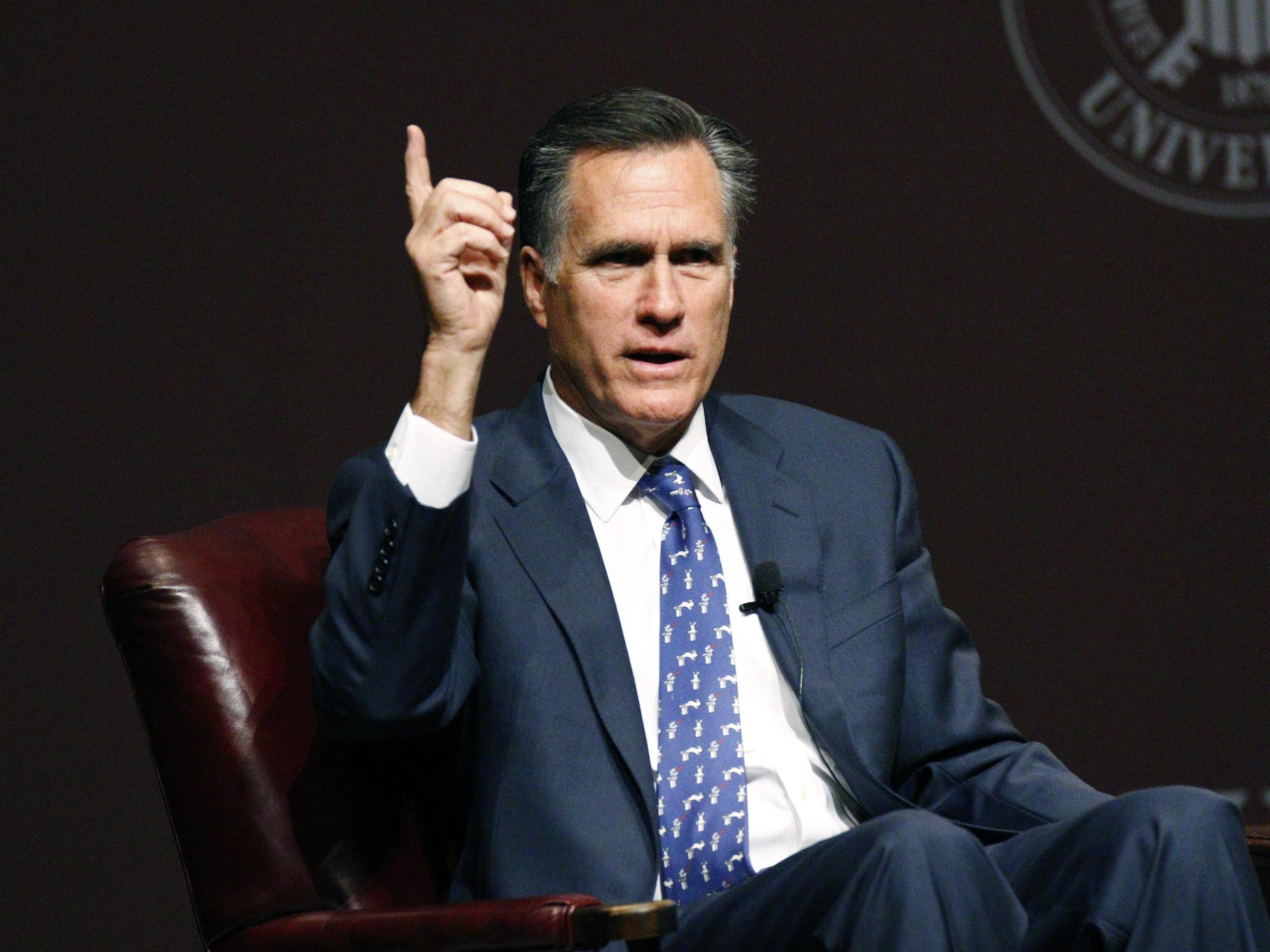 governor mitt romneys run for presidency In a move that surprised absolutely no one, mitt romney announced this morning via video that he will run for the utah senate seat orrin hatch plans to vacate in 2019.