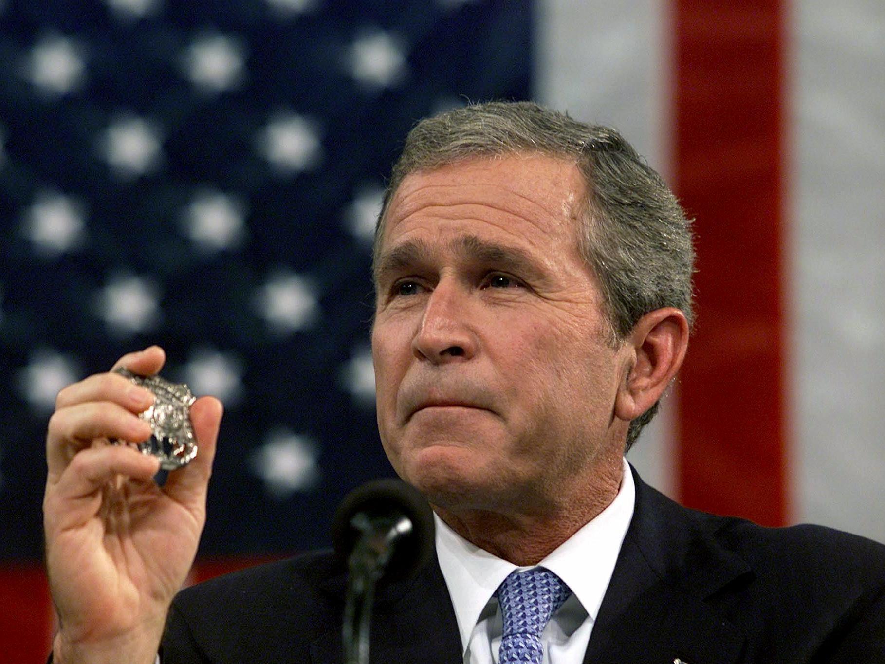 Text of George Bush's speech