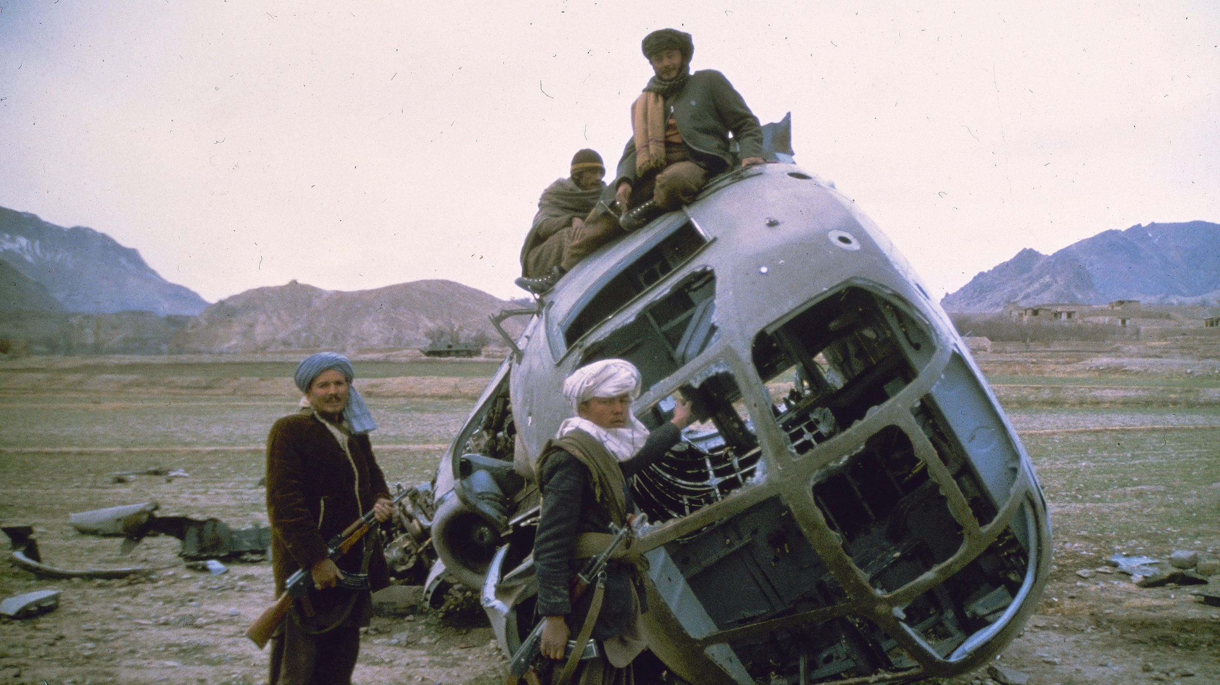 u s intervention in the ussr mujahideen