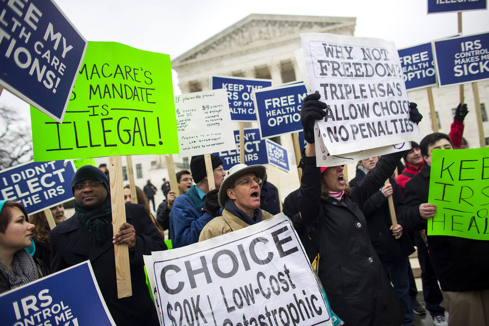 Few Clues On Health Law S Future Emerge In Supreme Court