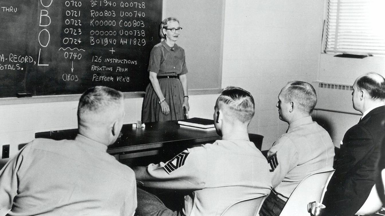 the life of grace murray hopper Grace murray hopper helped to outline the fundamental operating principles of computing machines learn more at womenshistoryorg.