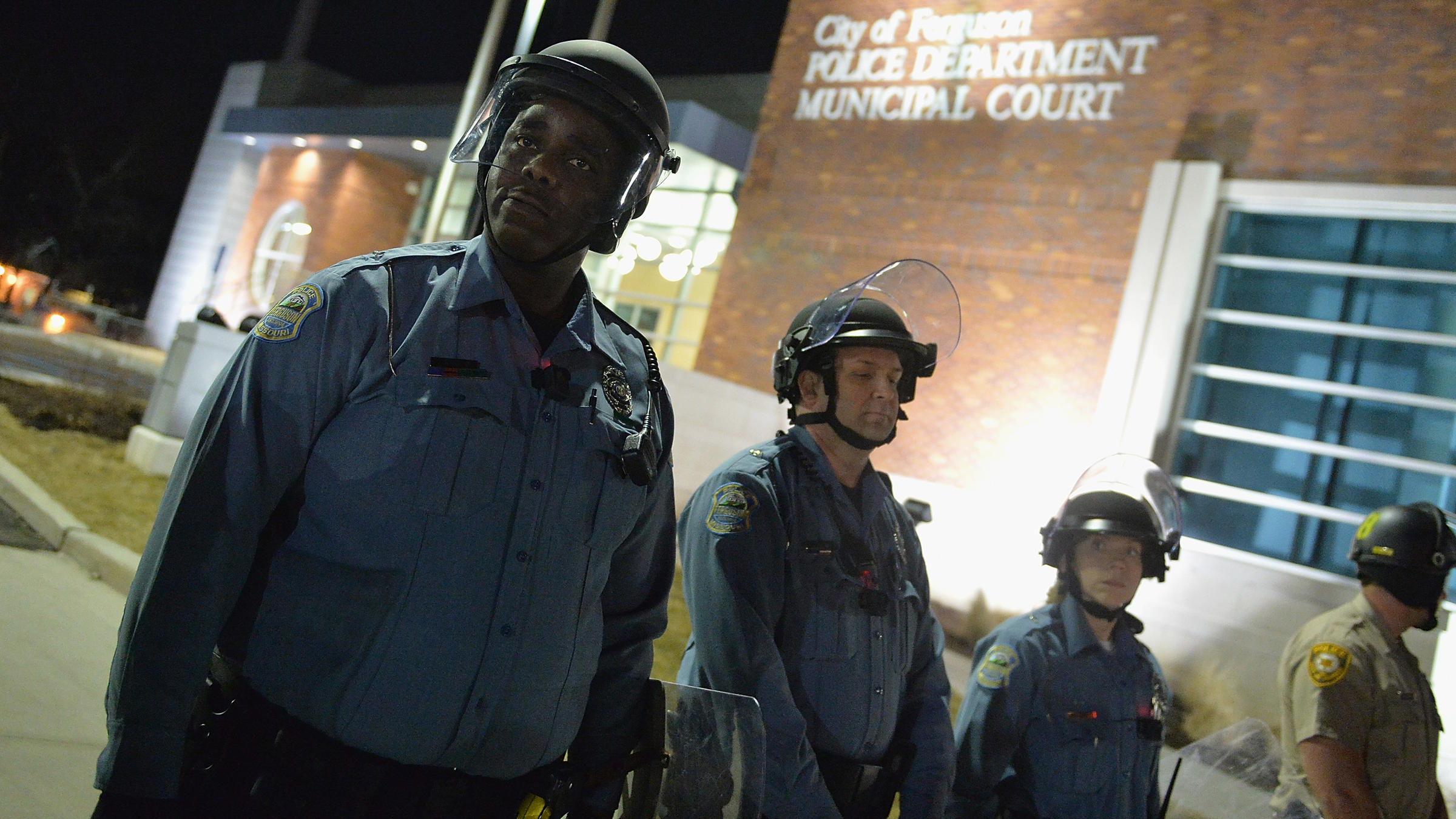2 Police Officers Shot Amid Protest At Ferguson Police ...