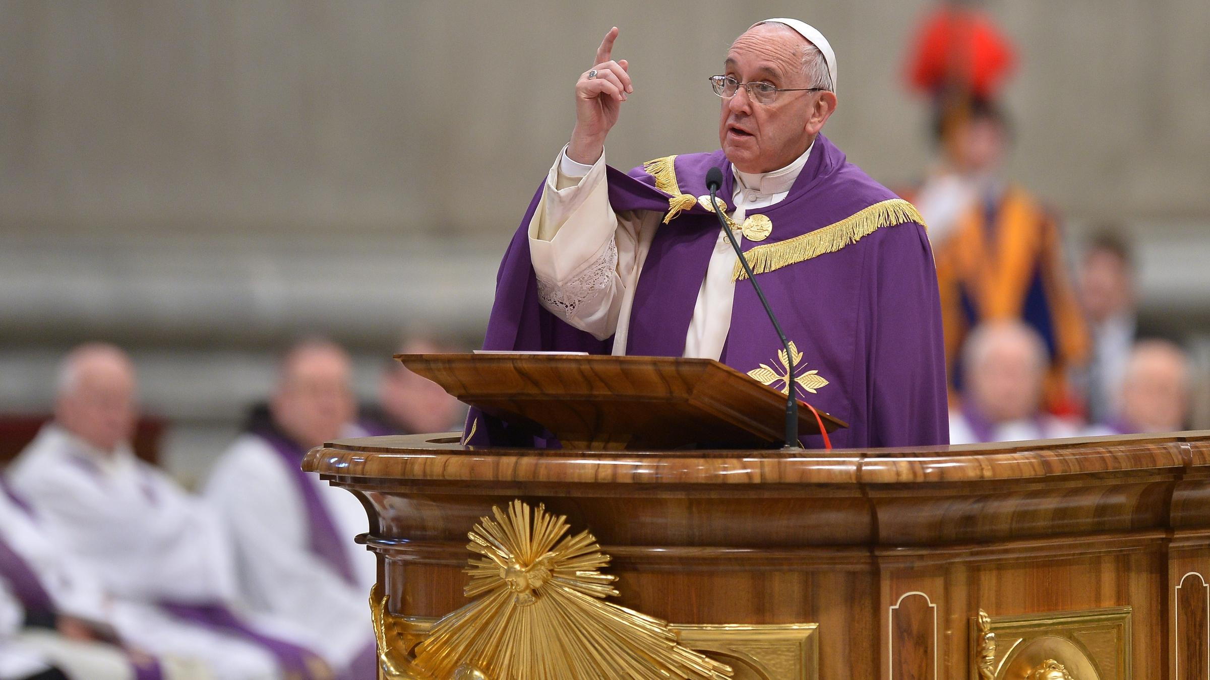 pope francis says his tenure at the vatican will be short wlrn. Black Bedroom Furniture Sets. Home Design Ideas