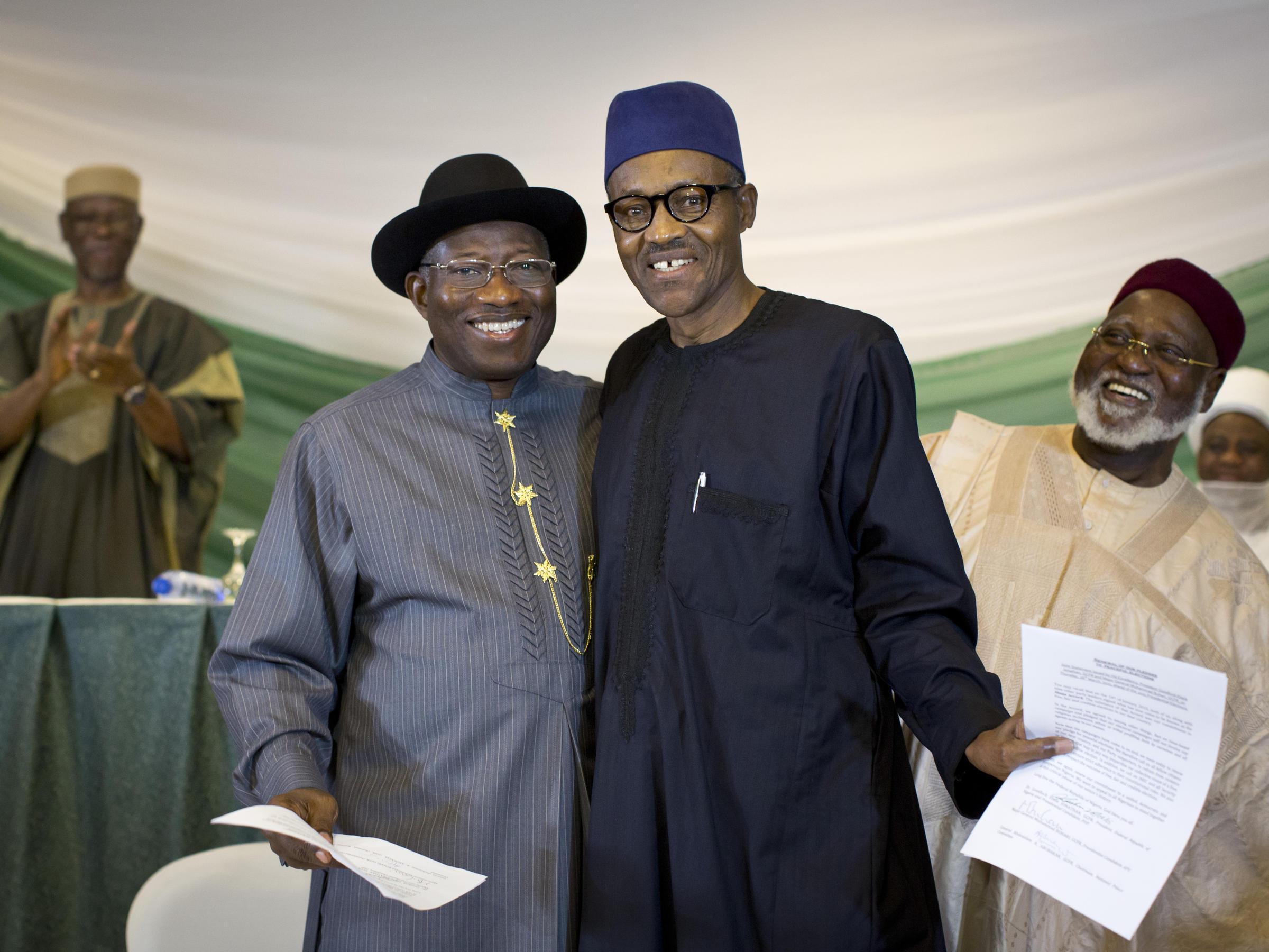 The Latest: Nigeria's president declared election winner