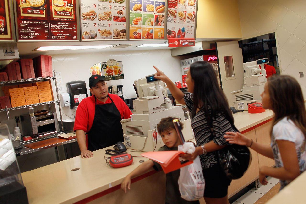 Target Food Court Employee