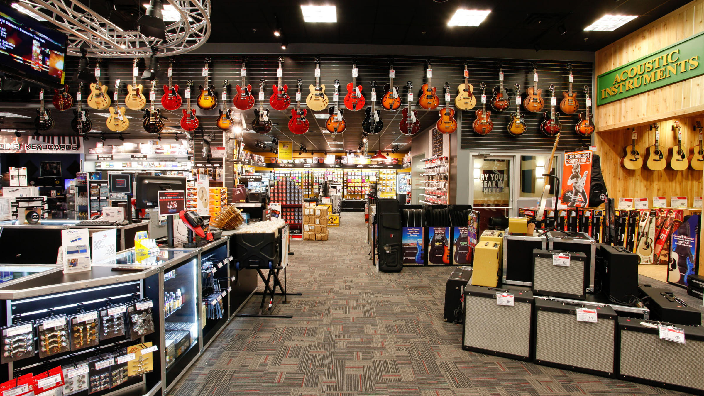 live at guitar center a lot of noise and a little fun wjct news. Black Bedroom Furniture Sets. Home Design Ideas
