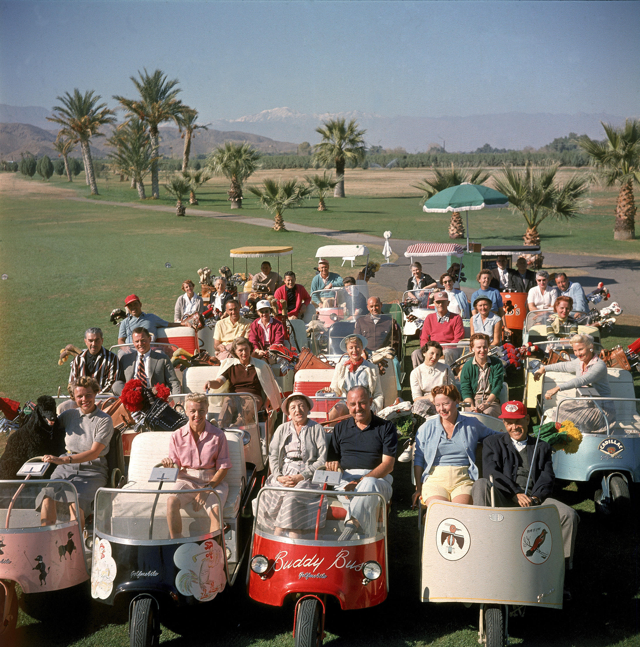 Take a swing at this golf is exercise cart or no cart for Thunderbird golf course palm springs