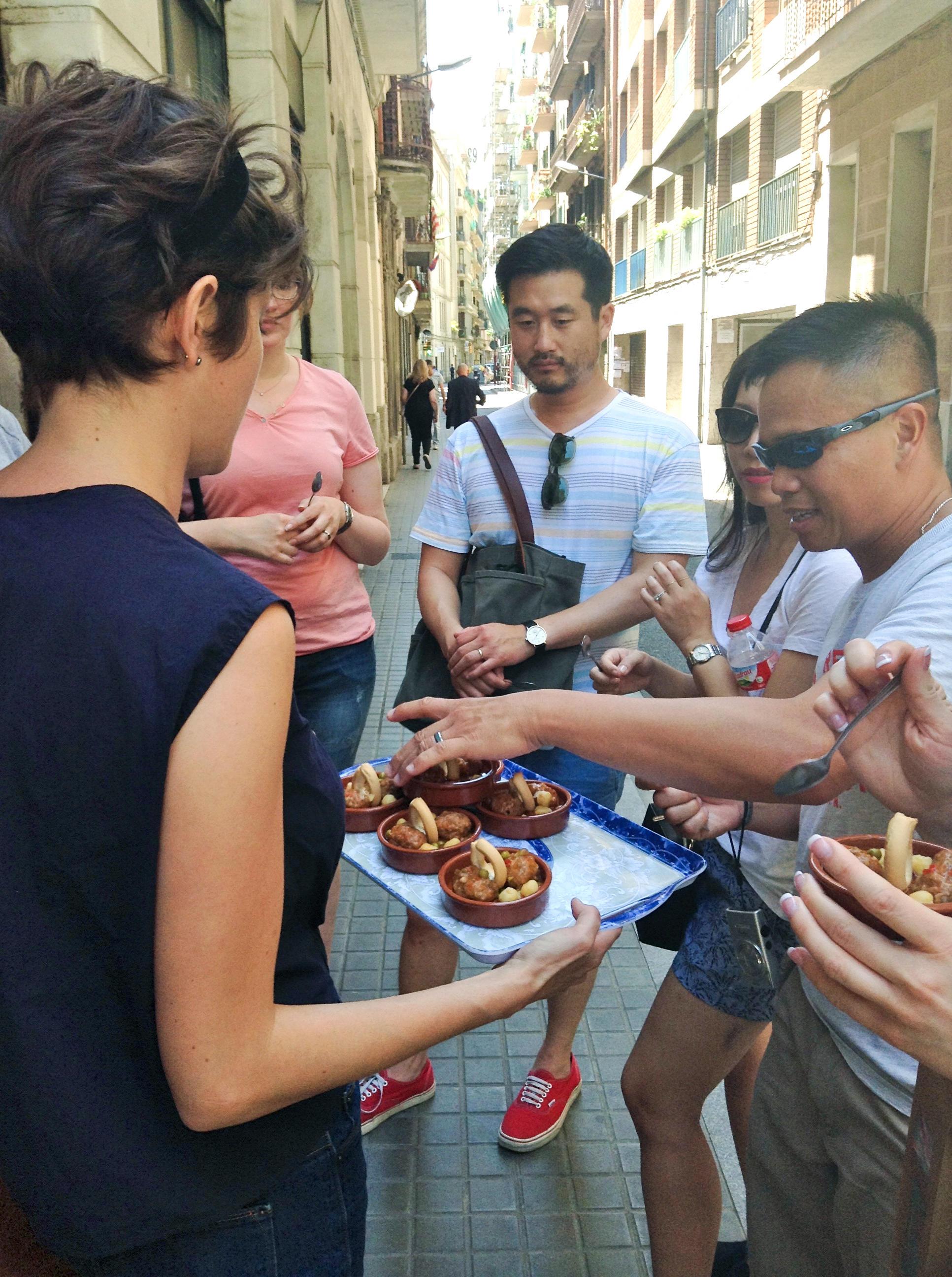 Barcelona 39 s mom and pop tapas bars take on the big tourist - La botigueta barcelona ...