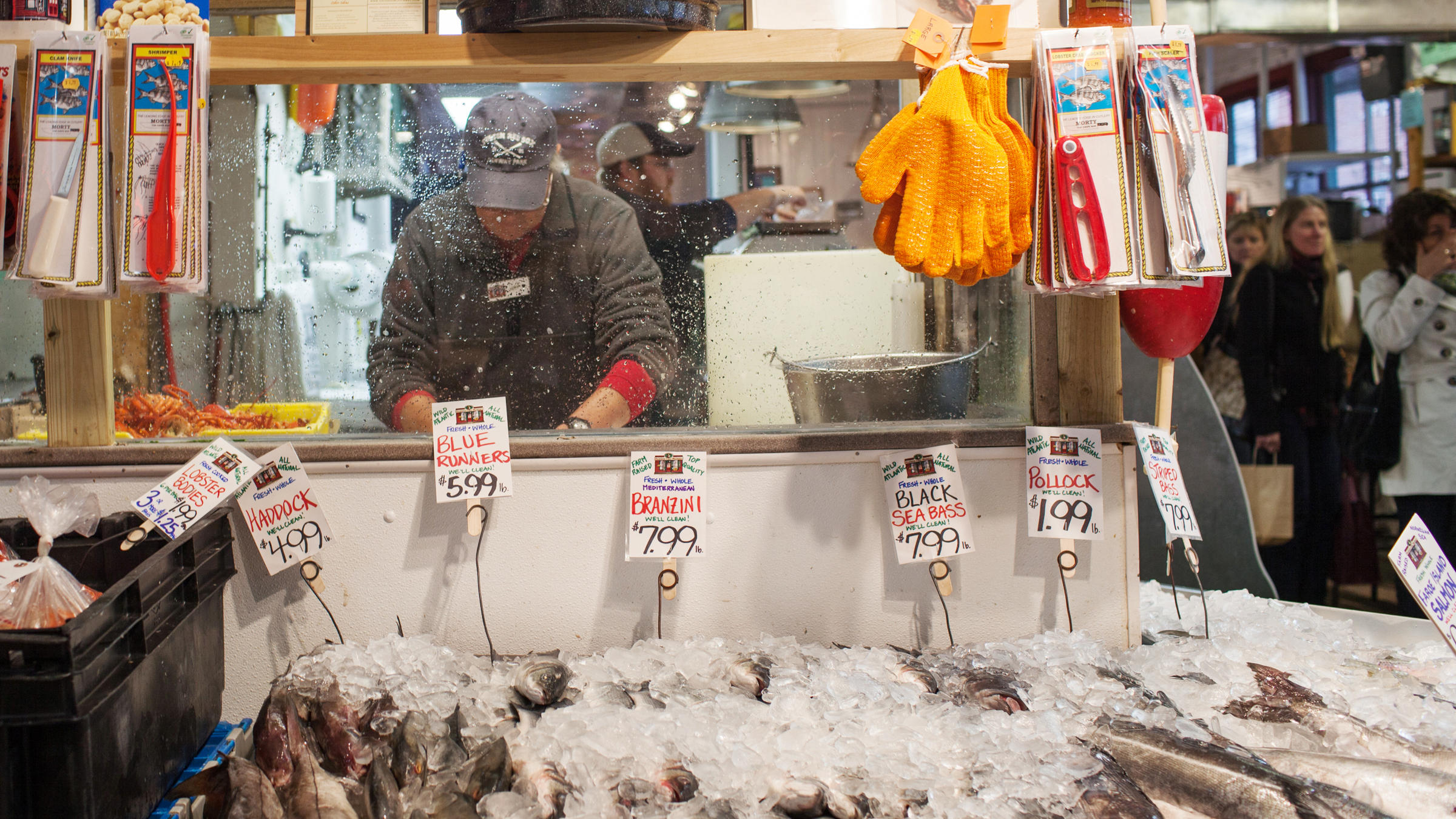 Do fish names encourage fishy business wlrn for Fish market portland maine