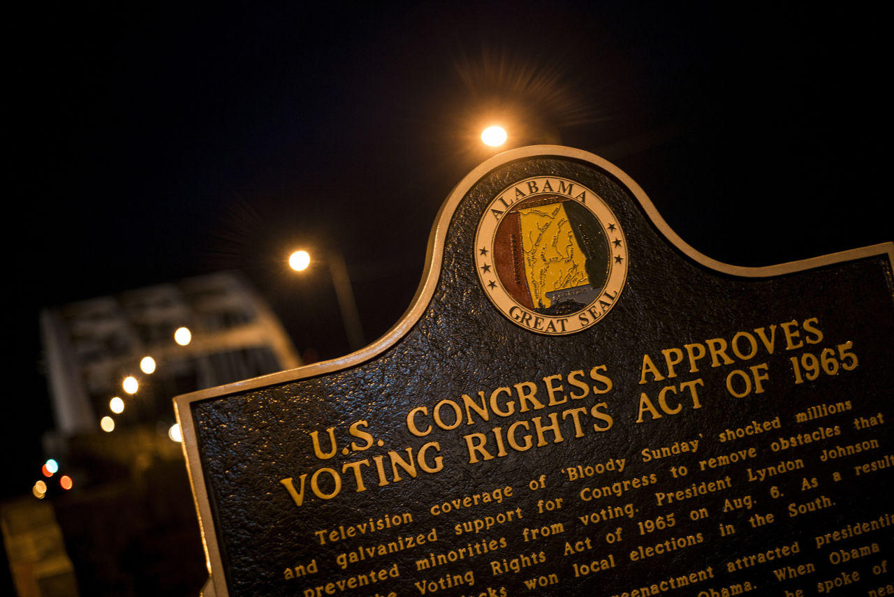 the voting rights act of 1965 Whereas, the 52nd anniversary of the signing of the voting rights act of 1965 is an opportunity to reflect on the importance of voting, to start renew a conversation on voting rights, and to critique those who would move our democracy backwards and.