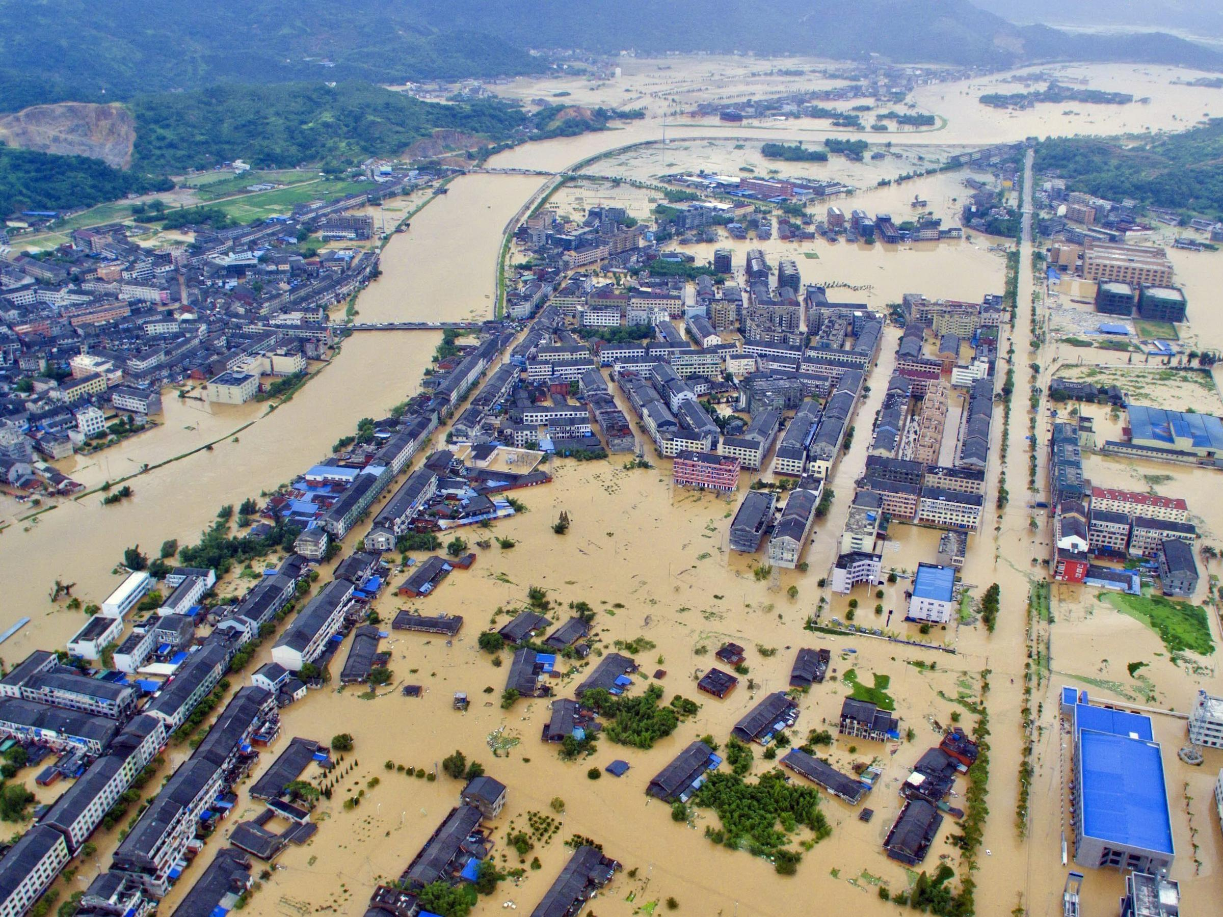Typhoon Lashes China Coast After Raking Taiwan | KNAU ...