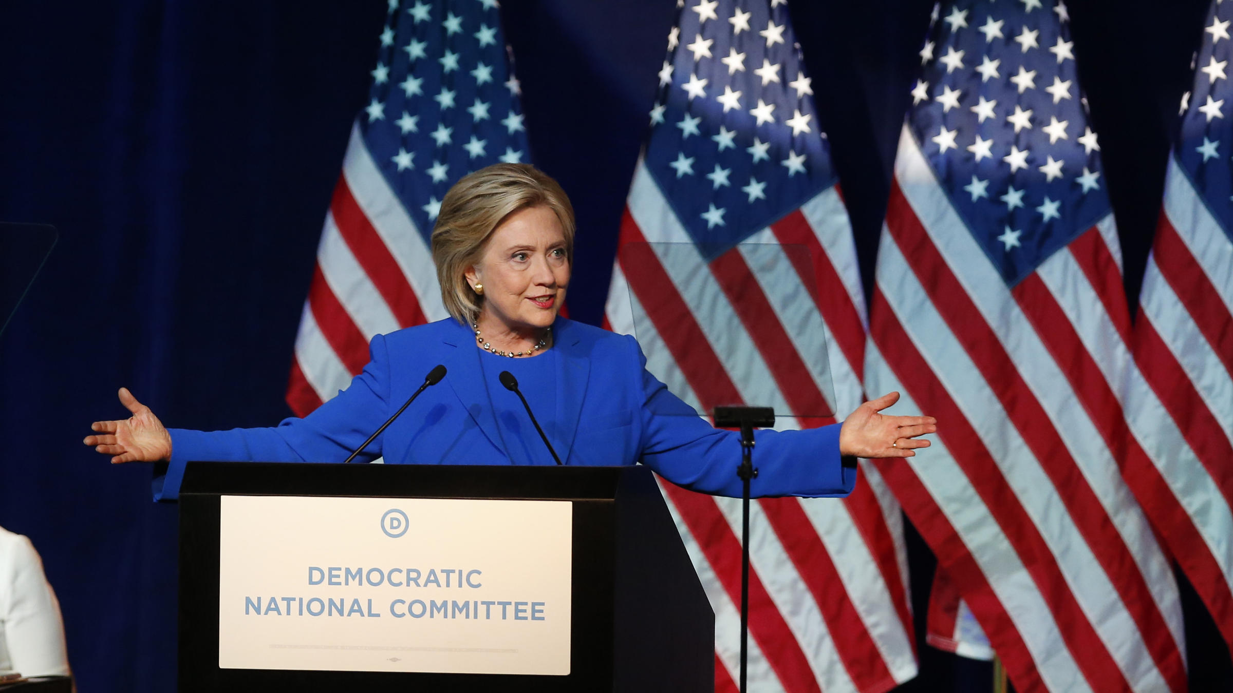 As Democrats Grow Nervous, Clinton Tries To Appeal To ...