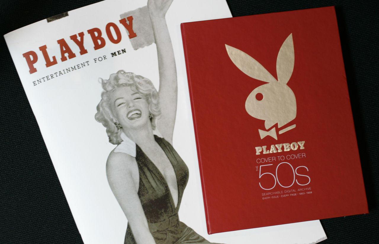 288cc8cb3ac ... Playboy magazine featuring Marilyn Monroe