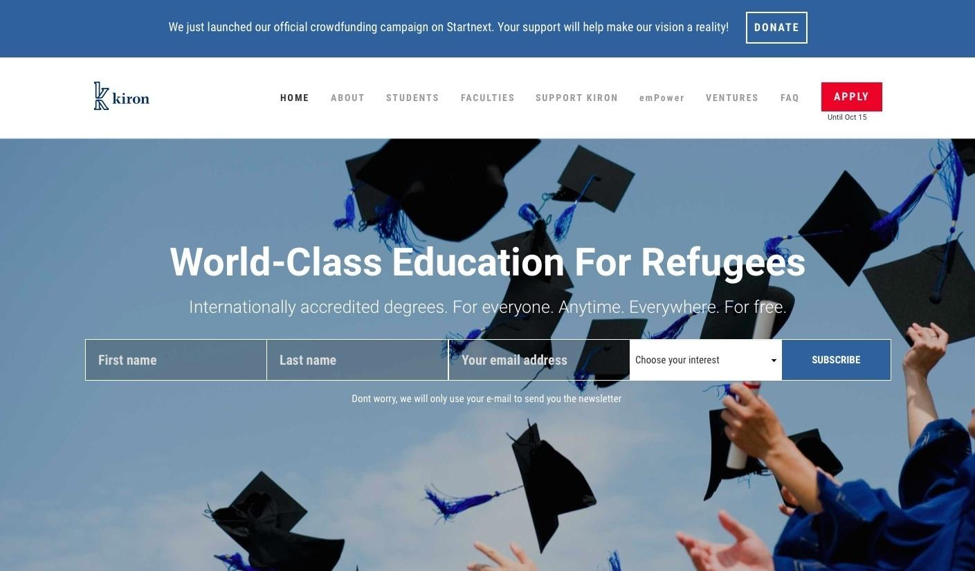 a study on the displaced people School of general studies logo columbia university has launched a scholarship  program to support individuals who have been displaced as a.