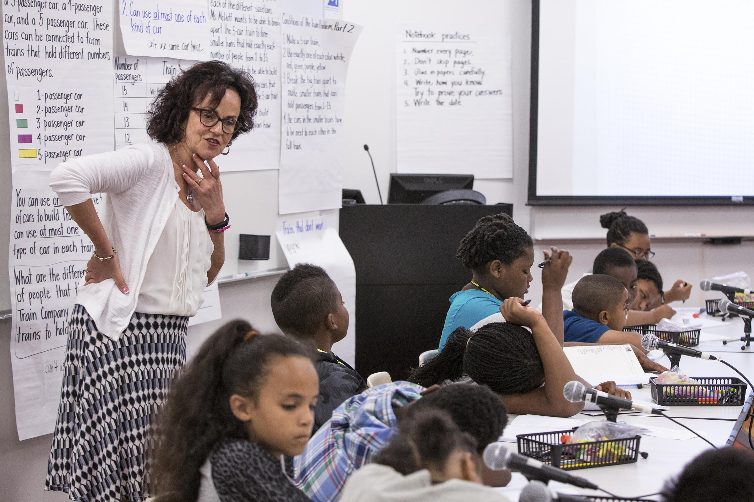 teaching elementary math There are approximately 18 million elementary school teachers instructing children in mathematics nationwide, in addition to some 225,000 middle and high school.