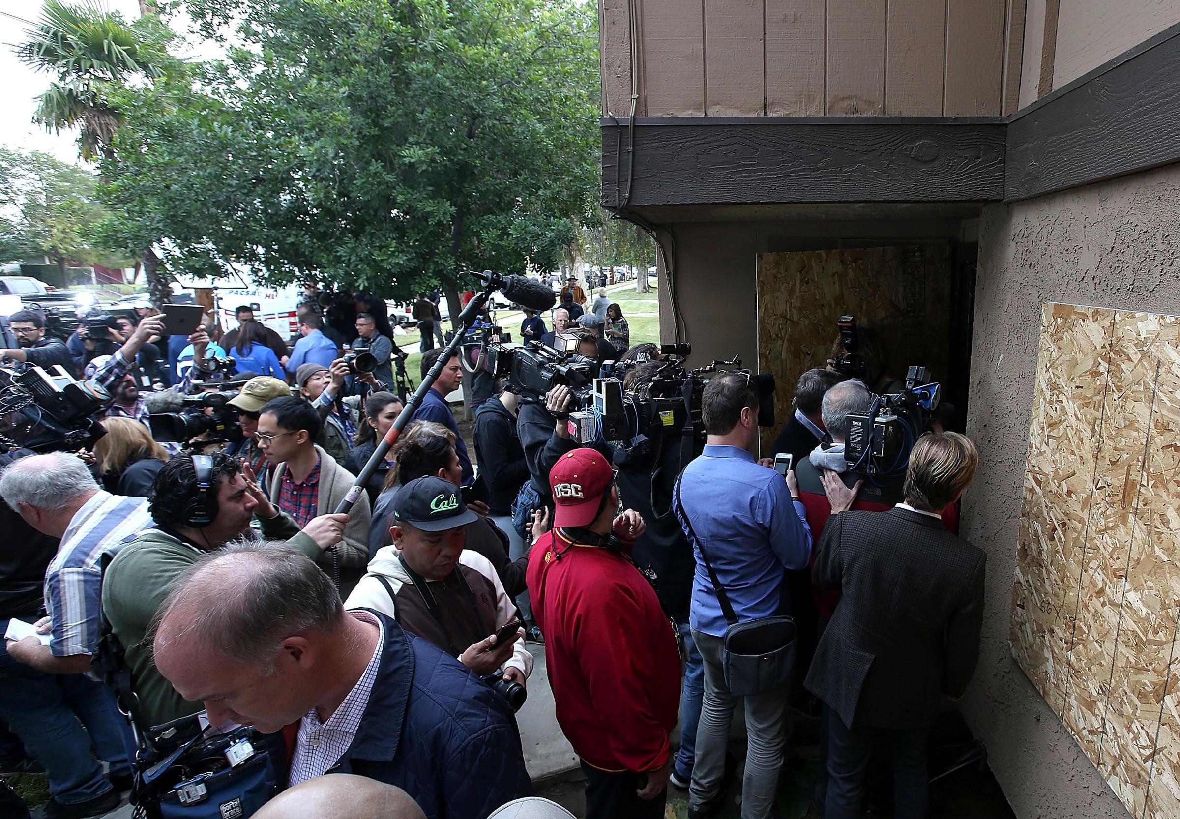 FBI: San Bernardino Shooting Is Being Investigated As A Terrorist Act | Connecticut Public Radio