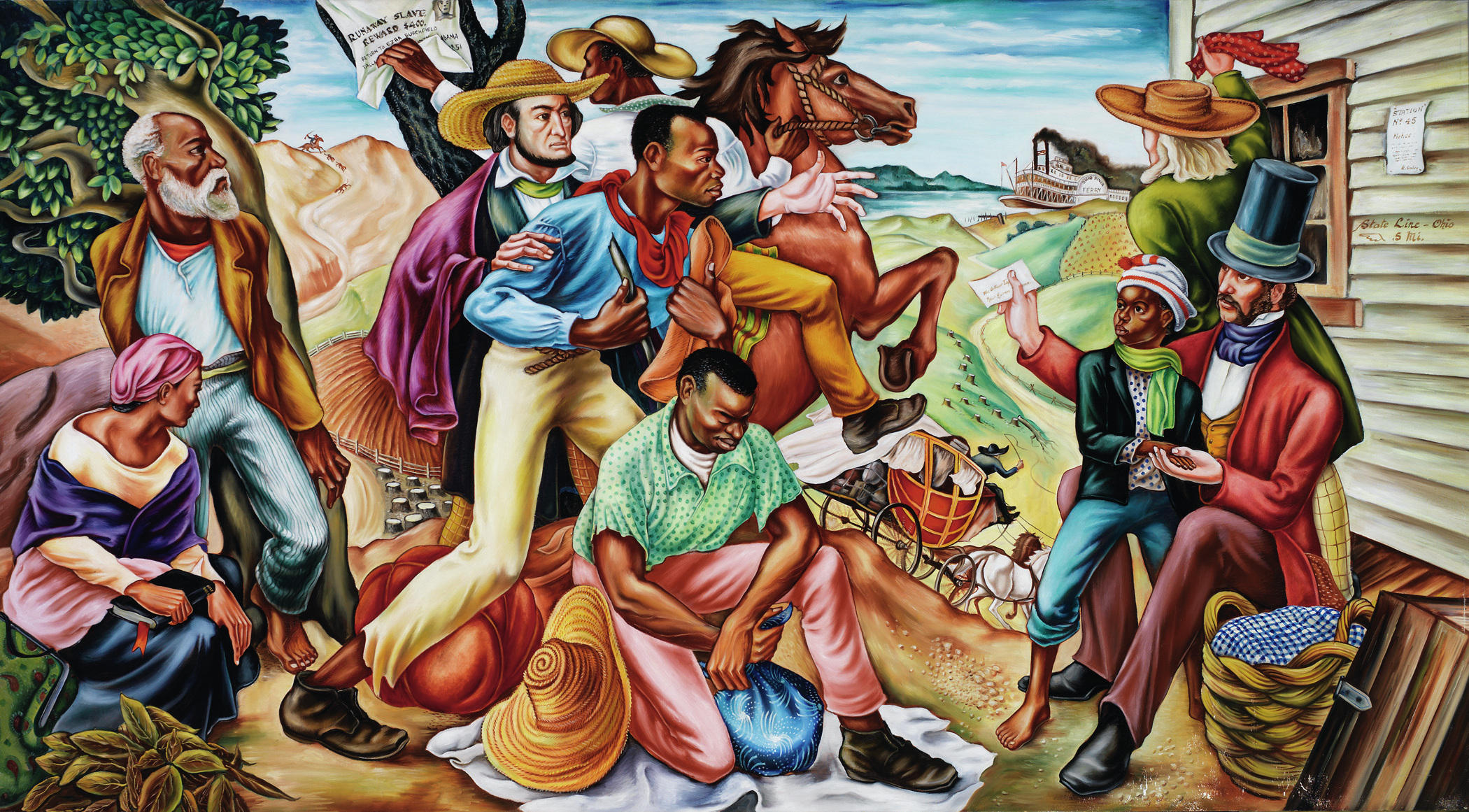 With powerful murals hale woodruff paved the way for for African american mural