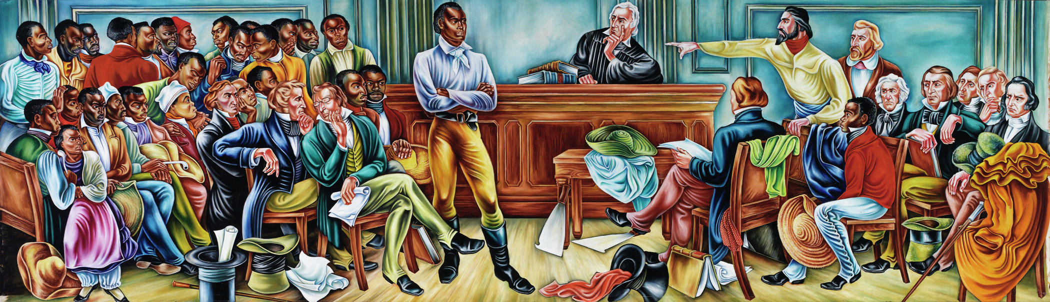 With powerful murals hale woodruff paved the way for for Mural history