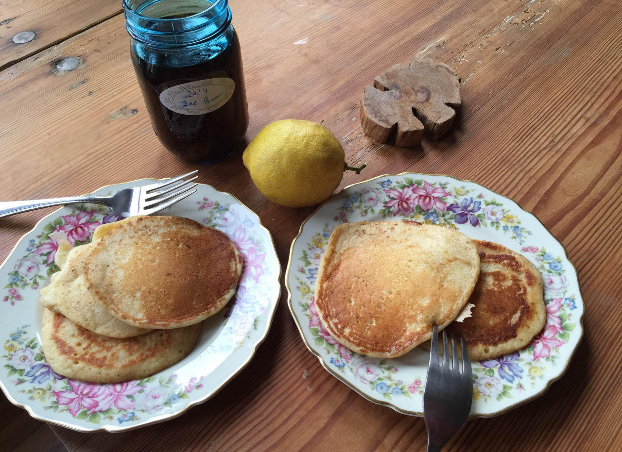 Sweet and savory pancake recipes from kathy gunst new for Recipes for pancakes sweet and savory
